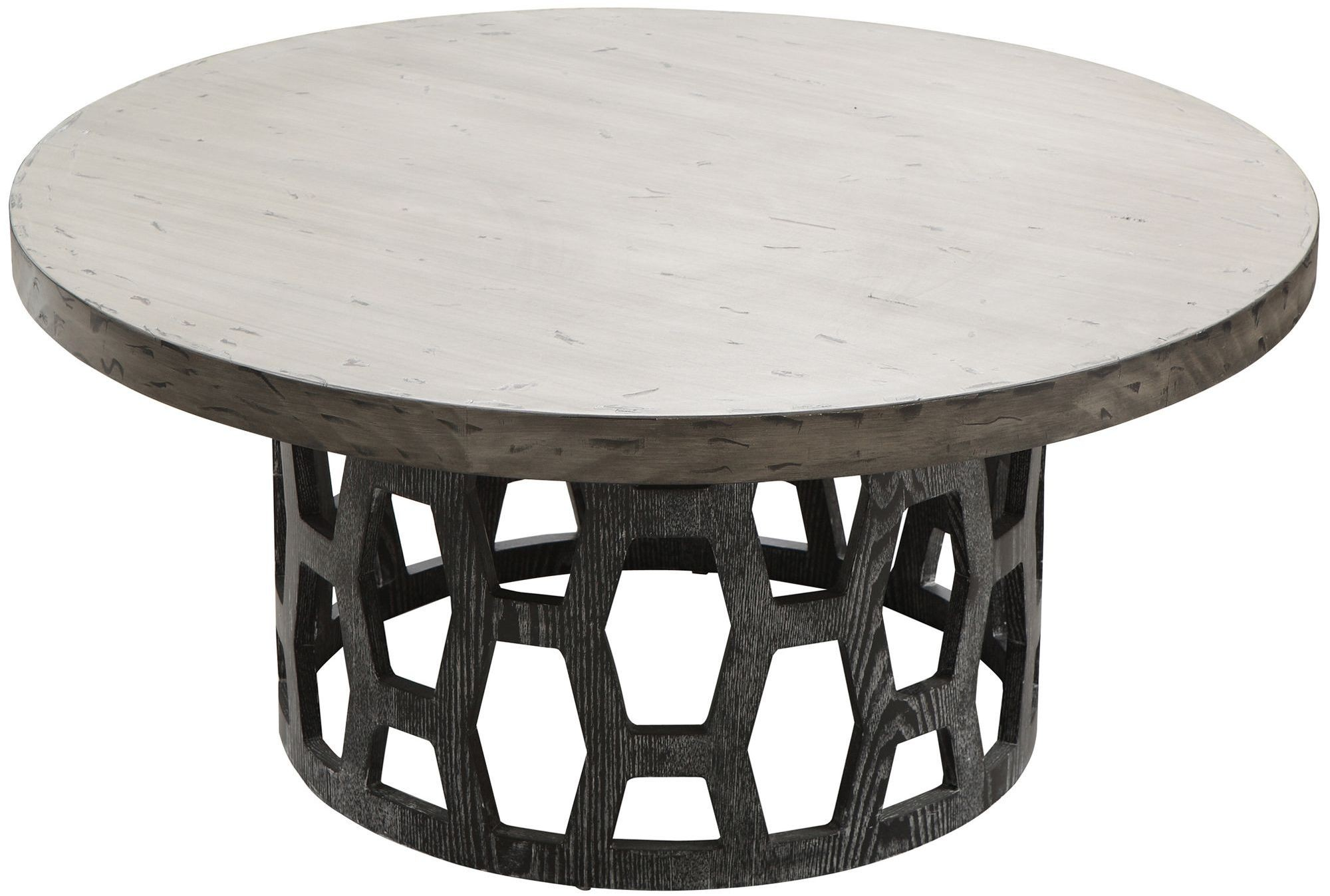 Centennial Two Tone Coffee Table Lccncoto Armen Living