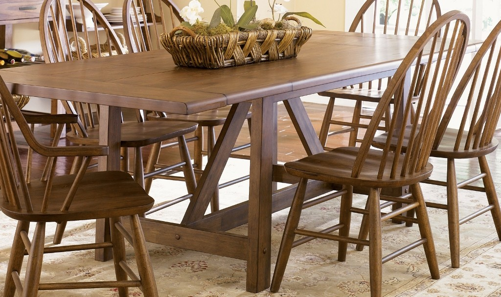 Farmhouse Trestle Table from Liberty 139 T4002