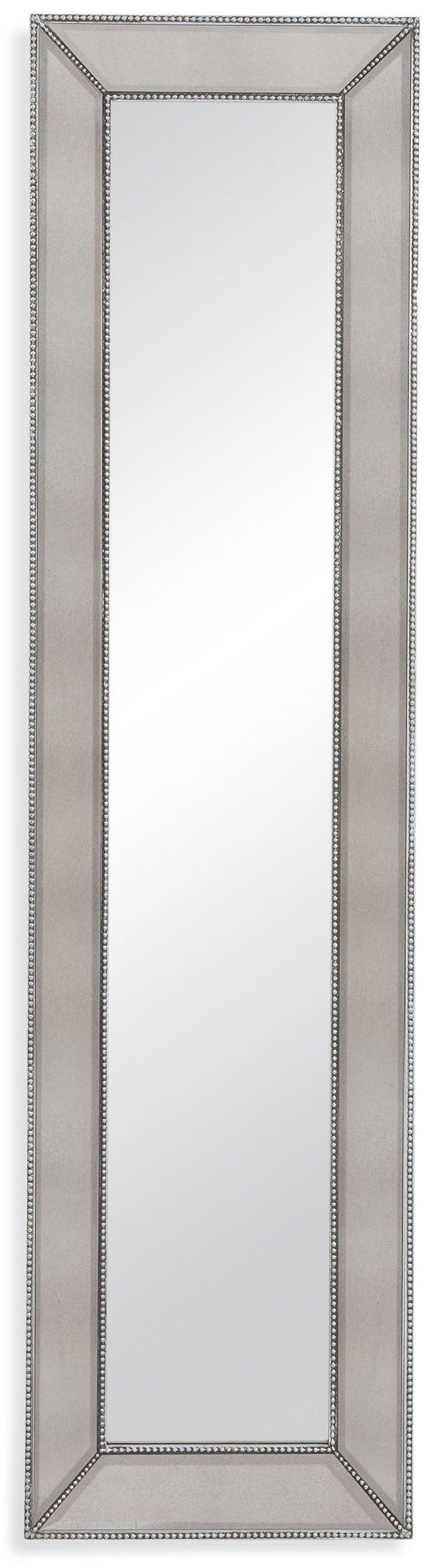 beaded leaner mirror m3591bec bassett mirror