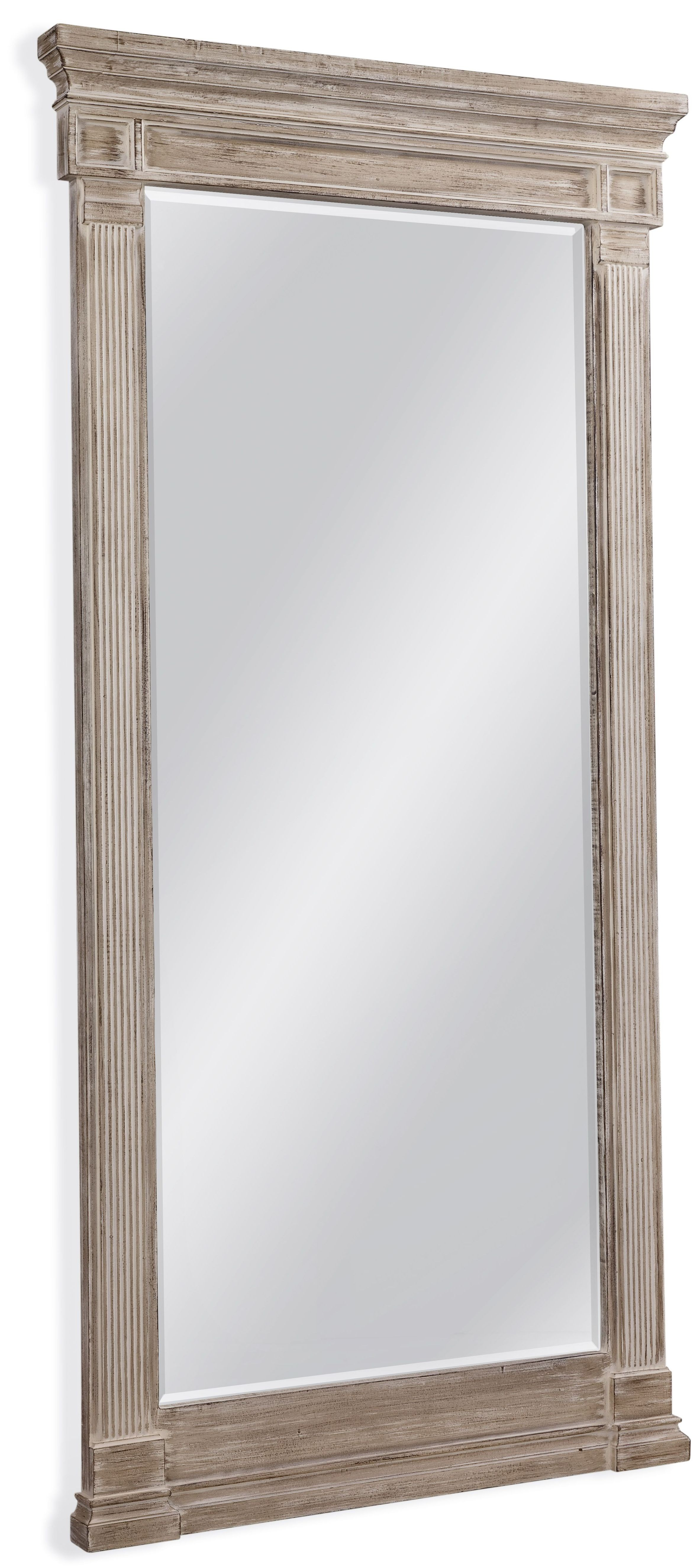 Ione leaner mirror m3835bec bassett mirror for Leaner mirror