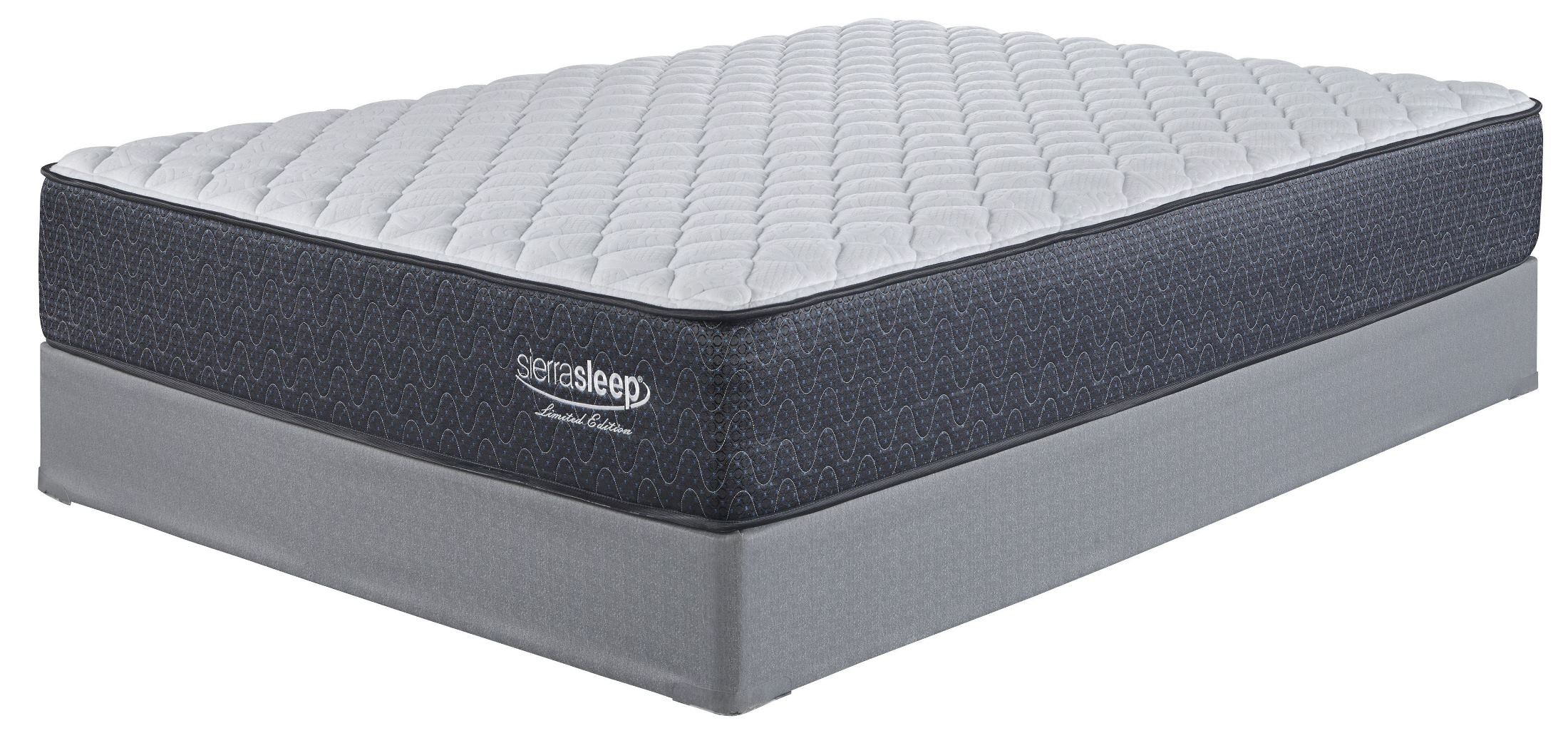 White Twin Firm Mattress With Foundation M79711 M81x12 Ashley
