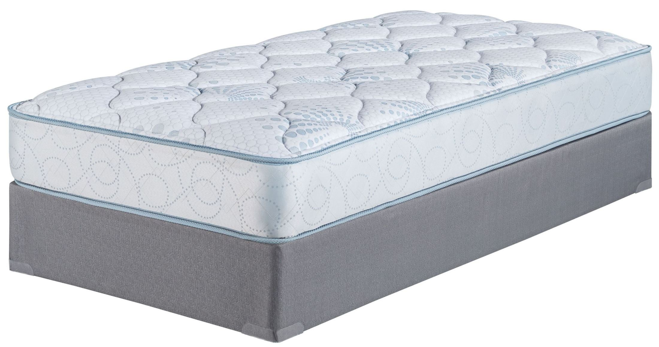 Kids Bedding Innerspring Twin Size Mattress With Foundation M80411 M81x12 Ashley