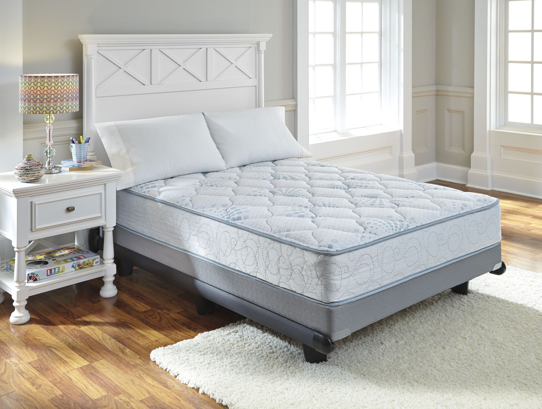 kids bedding innerspring full size mattress m80421 ashley. Black Bedroom Furniture Sets. Home Design Ideas