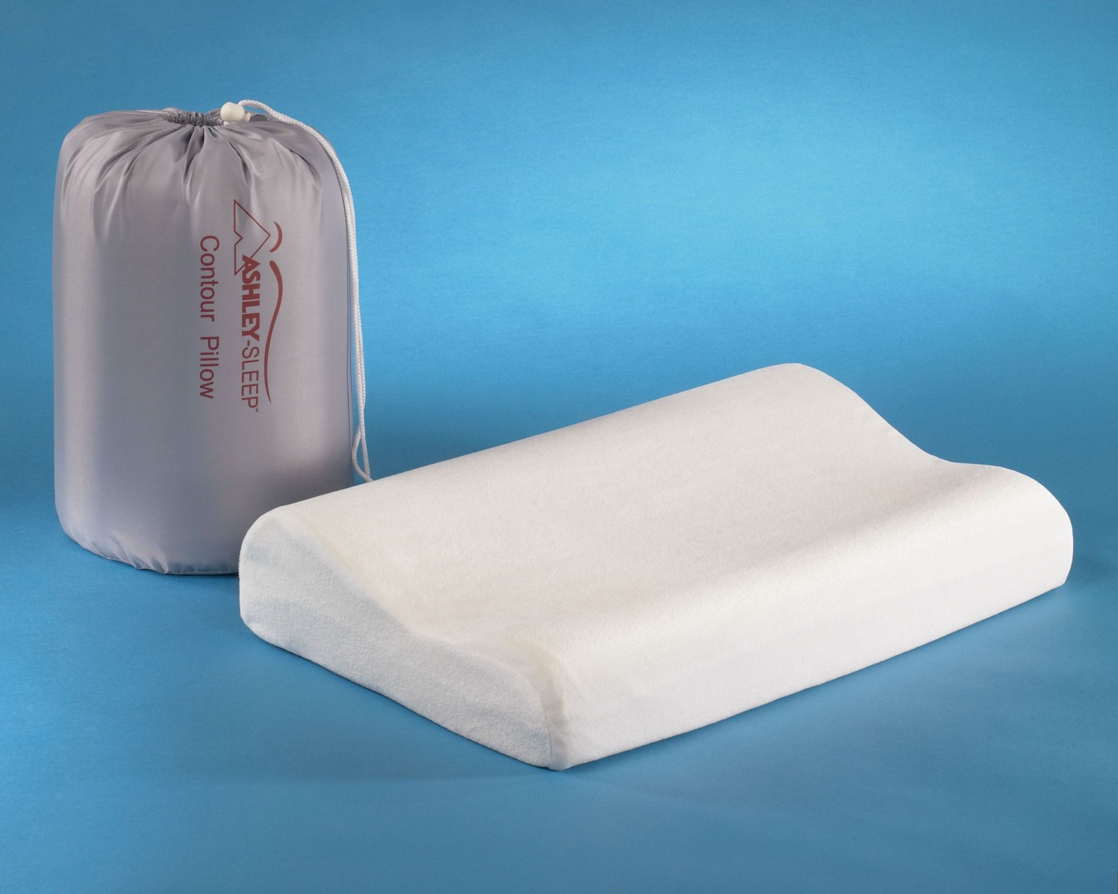 Ashley Pillow Contour Bed Pillow Set of 4 from Ashley