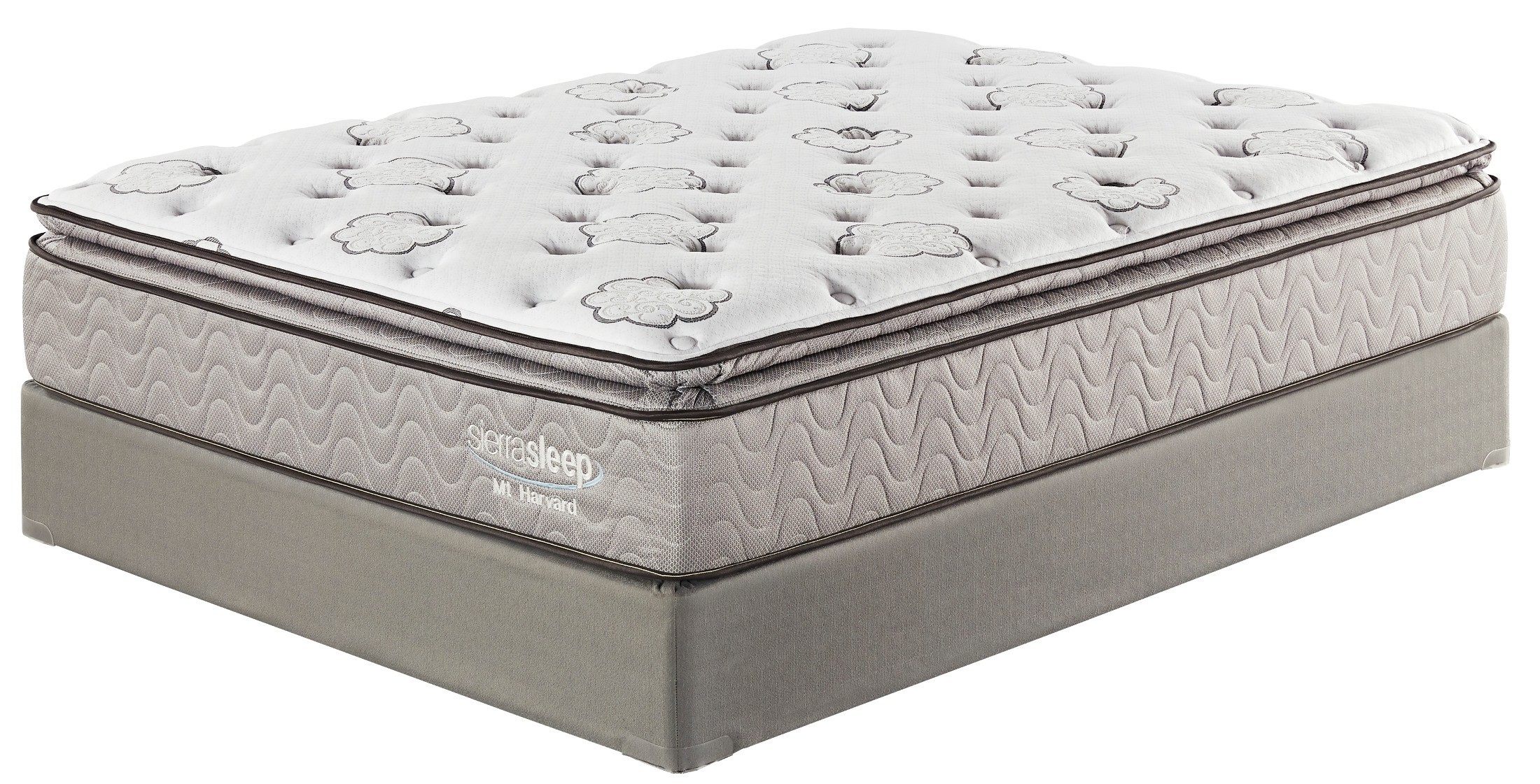 Mount Harvard Cal King Size Pillow Top Mattress From Ashley M88751 Coleman Furniture