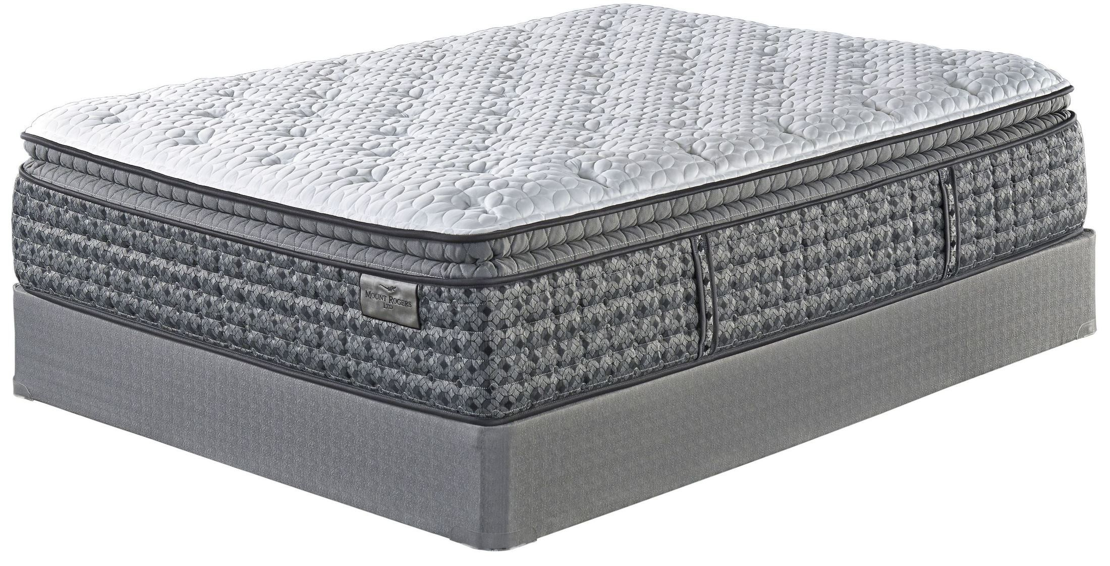 Mt rogers pillowtop white king mattress from ashley m90541 coleman furniture Mattress king