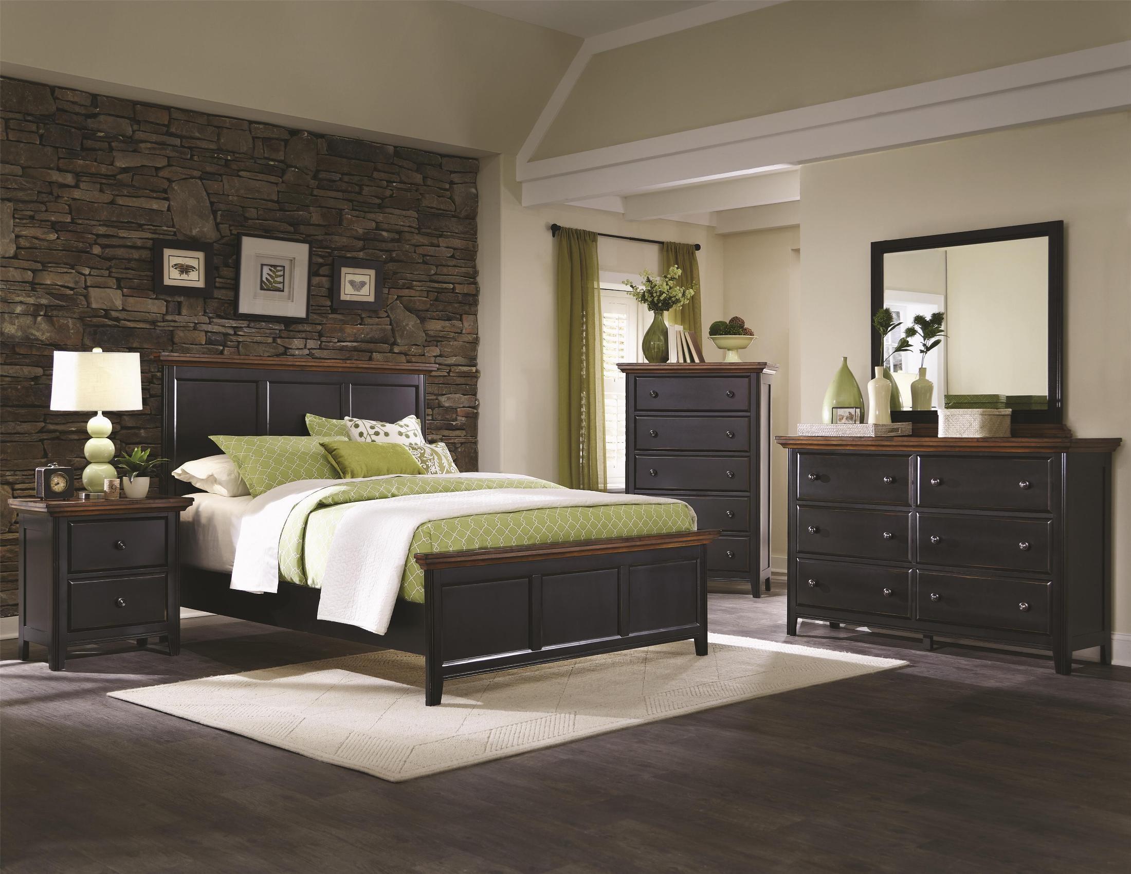 Mabel panel bedroom set 203151q coaster furniture for B m bedroom furniture