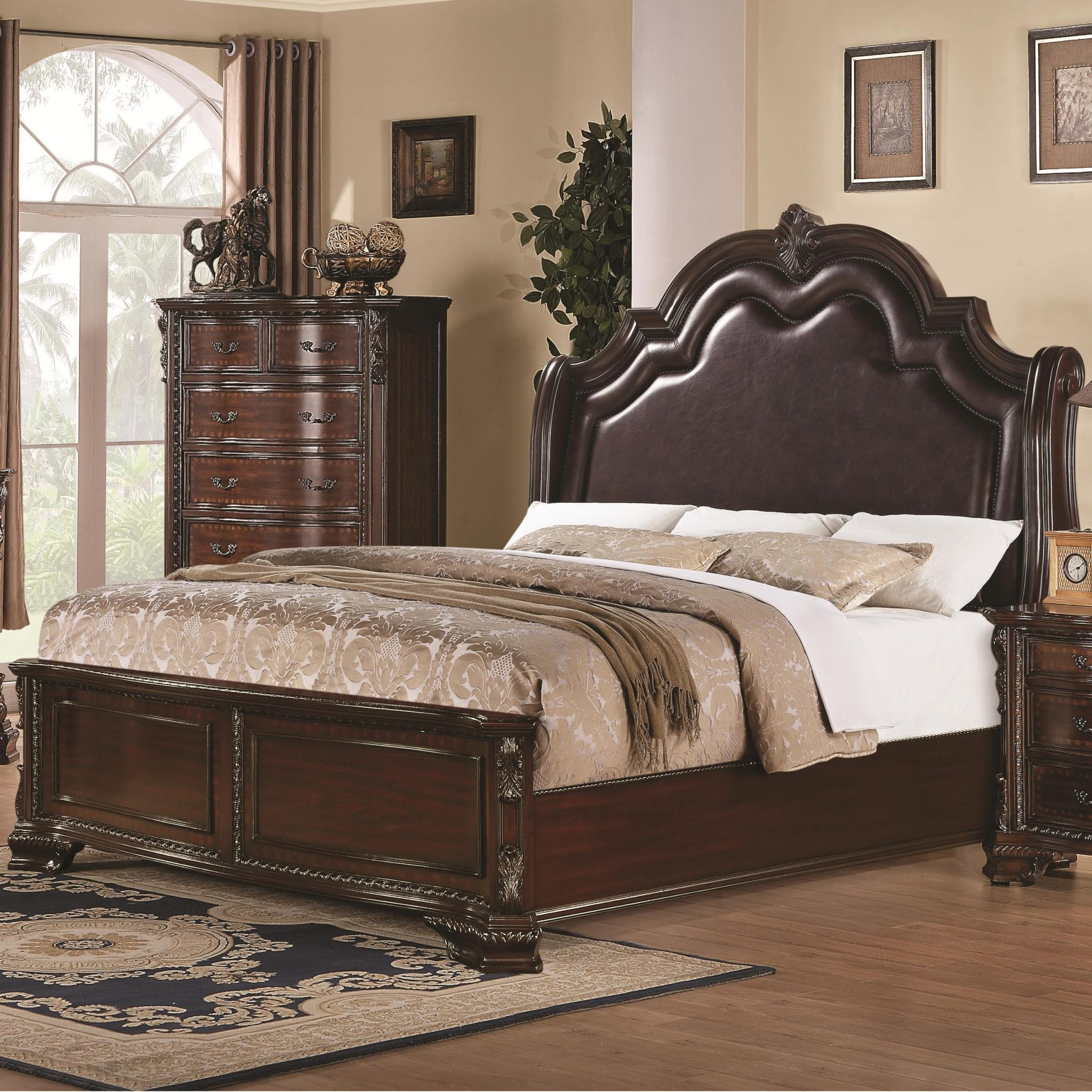 Maddison Panel Bedroom Set From Coaster (202261)