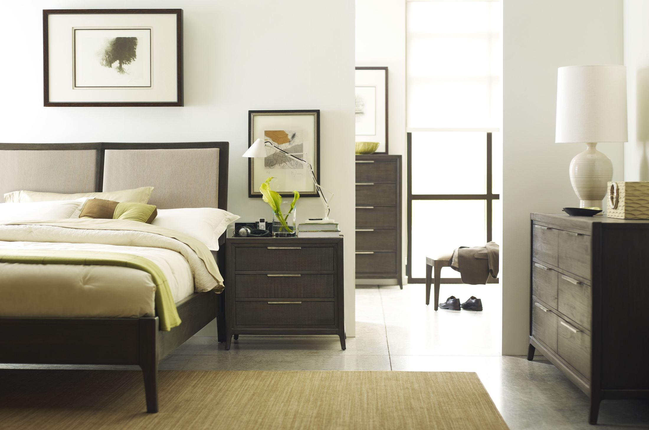 Messina Bedroom Set From Brownstone Me005 Coleman Furniture