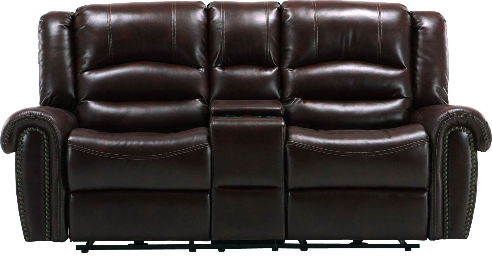 Gershwin Java Dual Power Reclining Console Loveseat From Parker Living Mger 822cp Ja Coleman