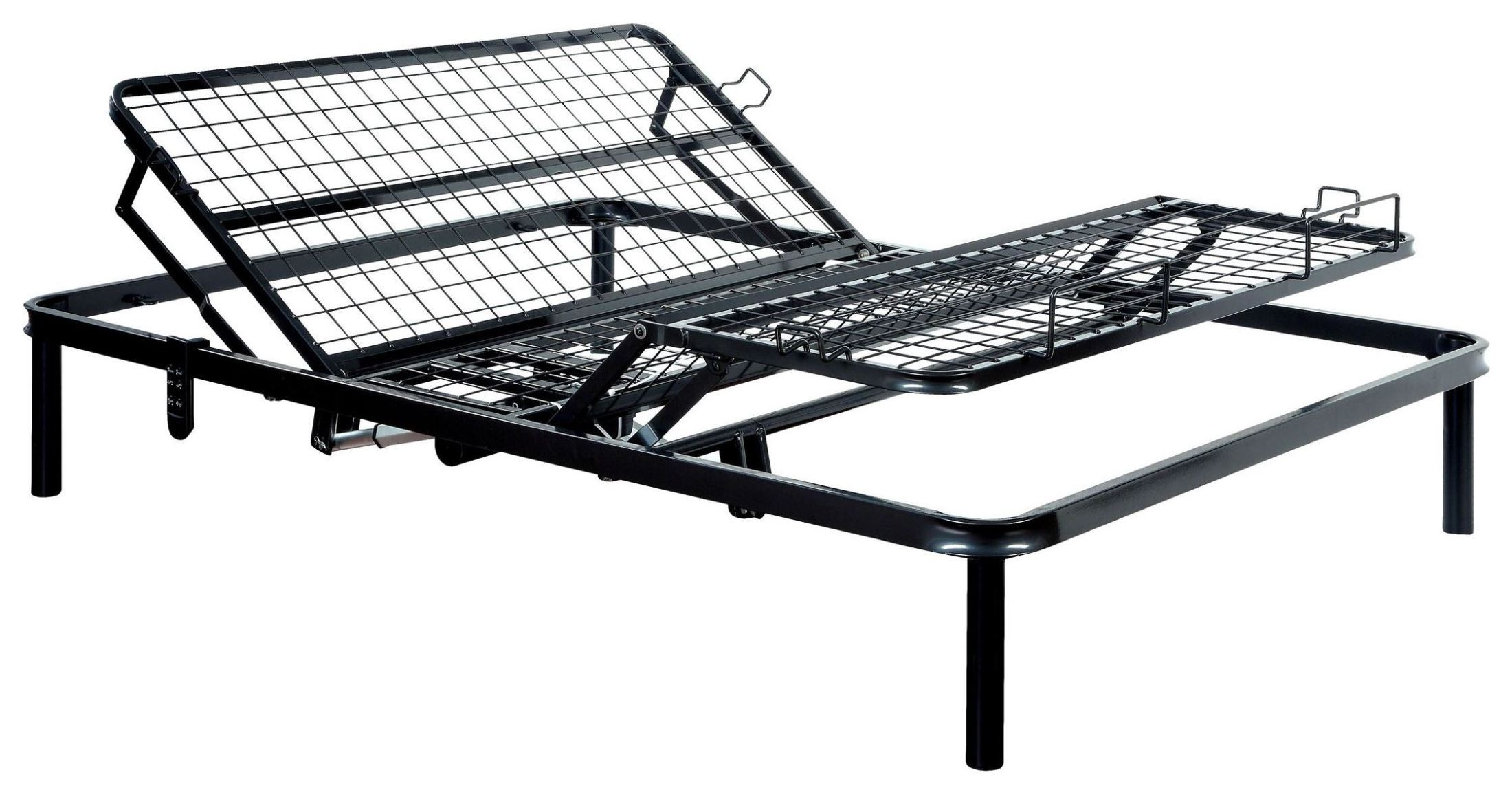 Adjustable Height King Size Bed Frames : Metal bed frame toronto floyd chunky wooden