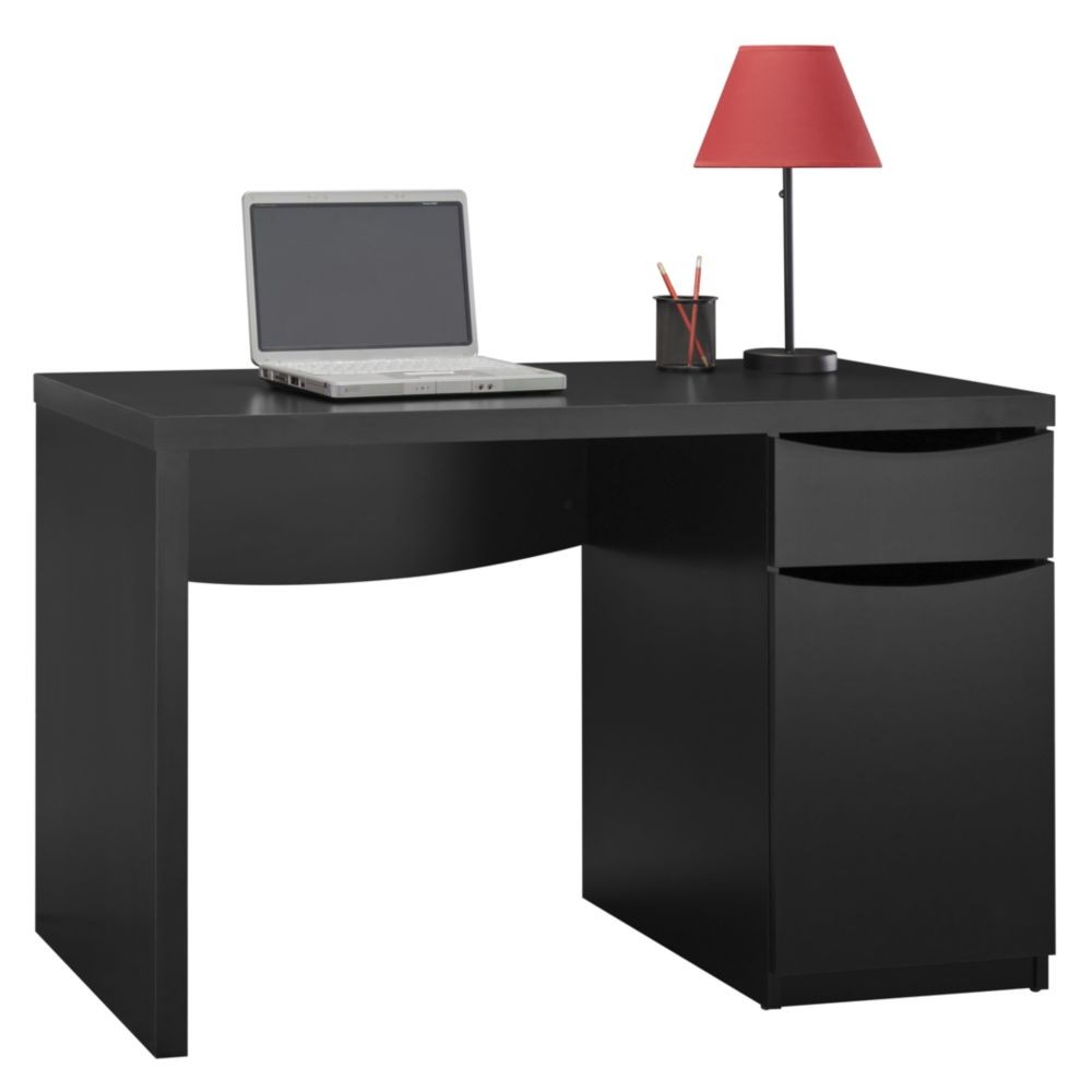 Montrese Classic Black Desk From Bush My72717 03