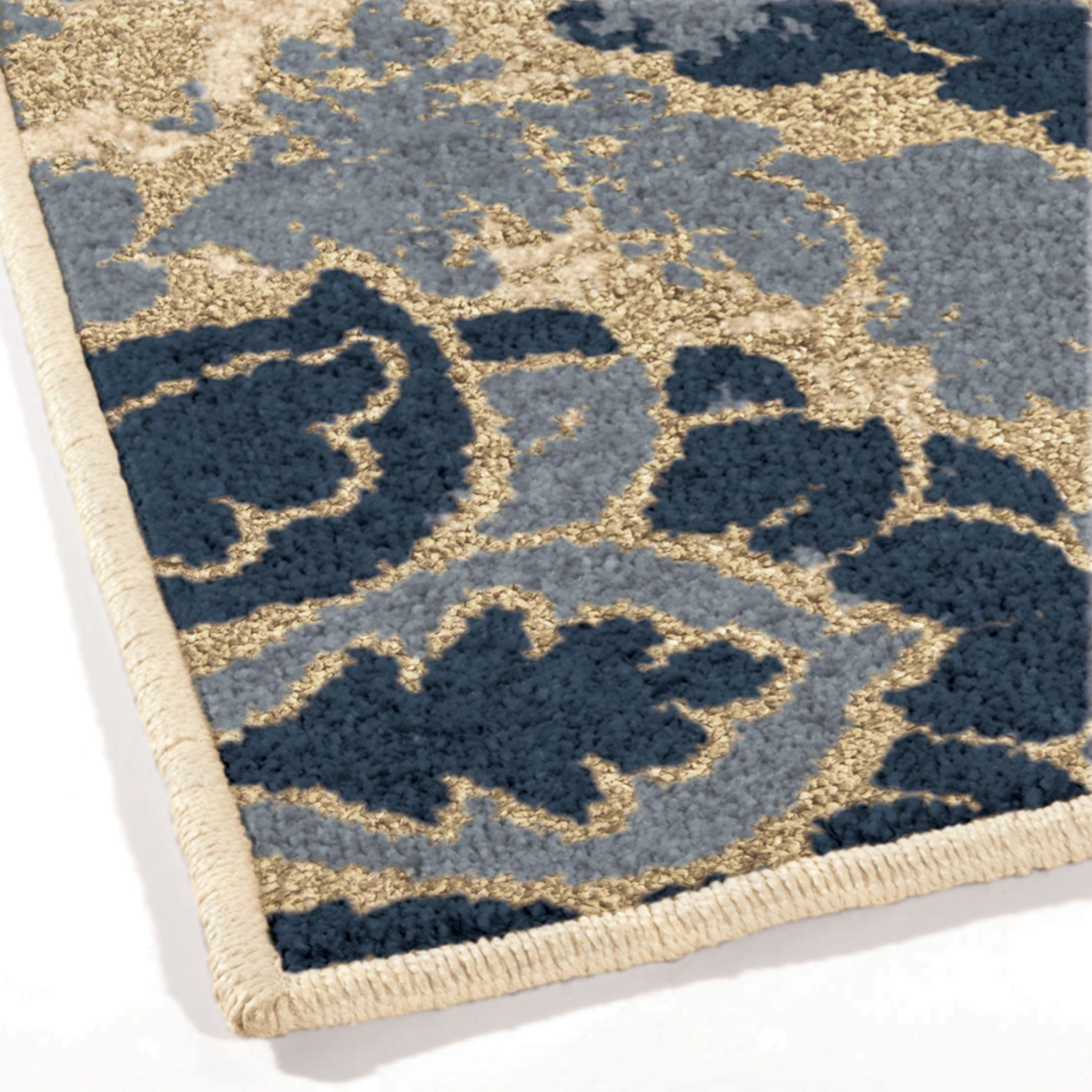 Orian Rugs Indoor Outdoor Leaves Allover Damask Multi Area
