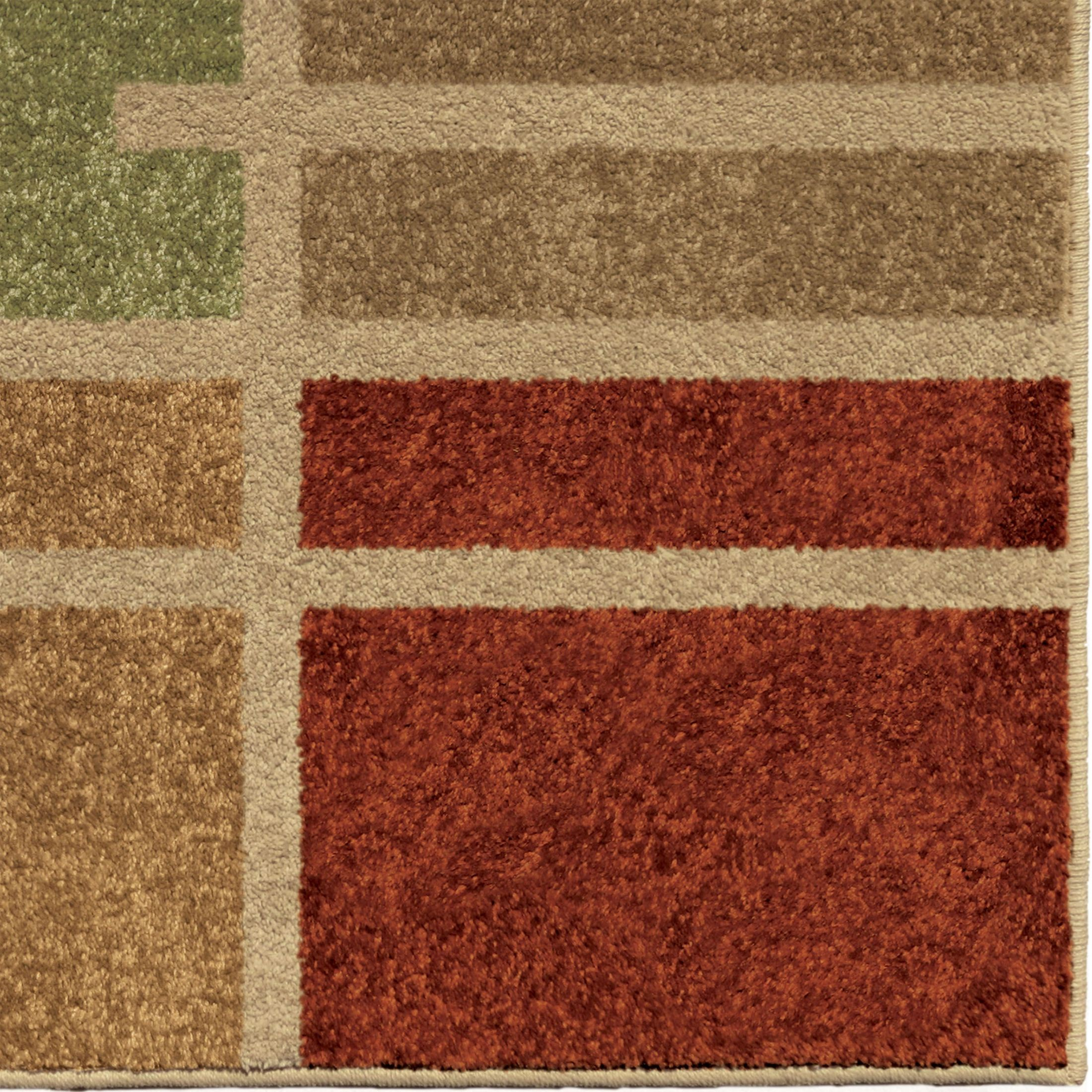Orian Rugs Indoor Outdoor Blocks Royce Multi Area