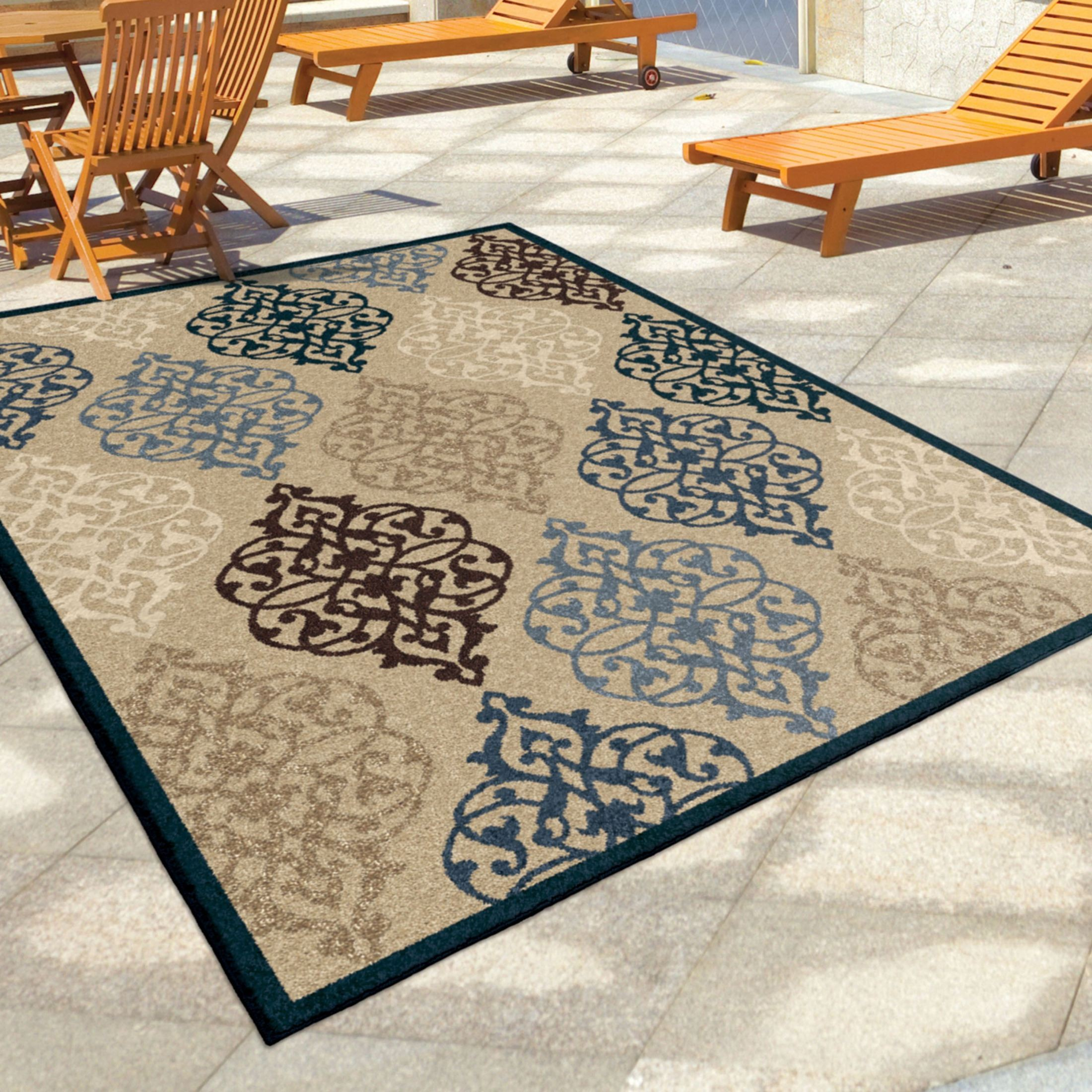 Orian Rugs Indoor Outdoor Scroll Hastings Multi Area