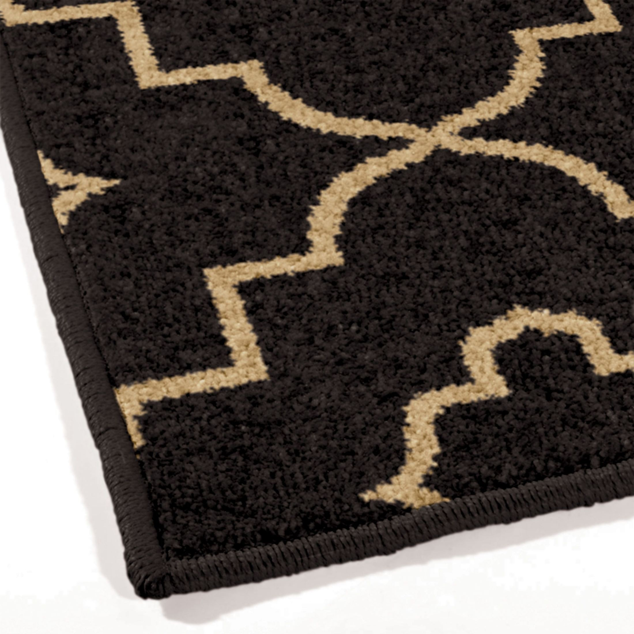 Orian Rugs Indoor Outdoor Trellis Tunnis Brown Area Small