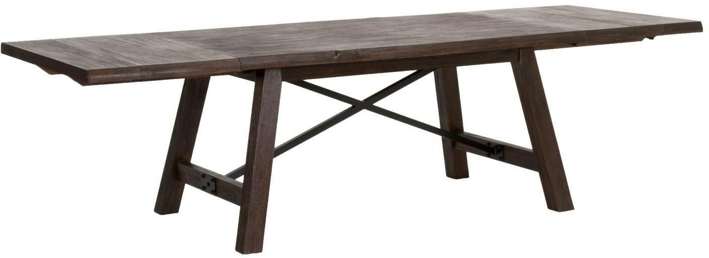Nixon Rustic Java Extendable Dining Table 6088RJAV  : nixonextensiondiningtable rusticjava 2orientexpress from colemanfurniture.com size 1409 x 514 jpeg 64kB