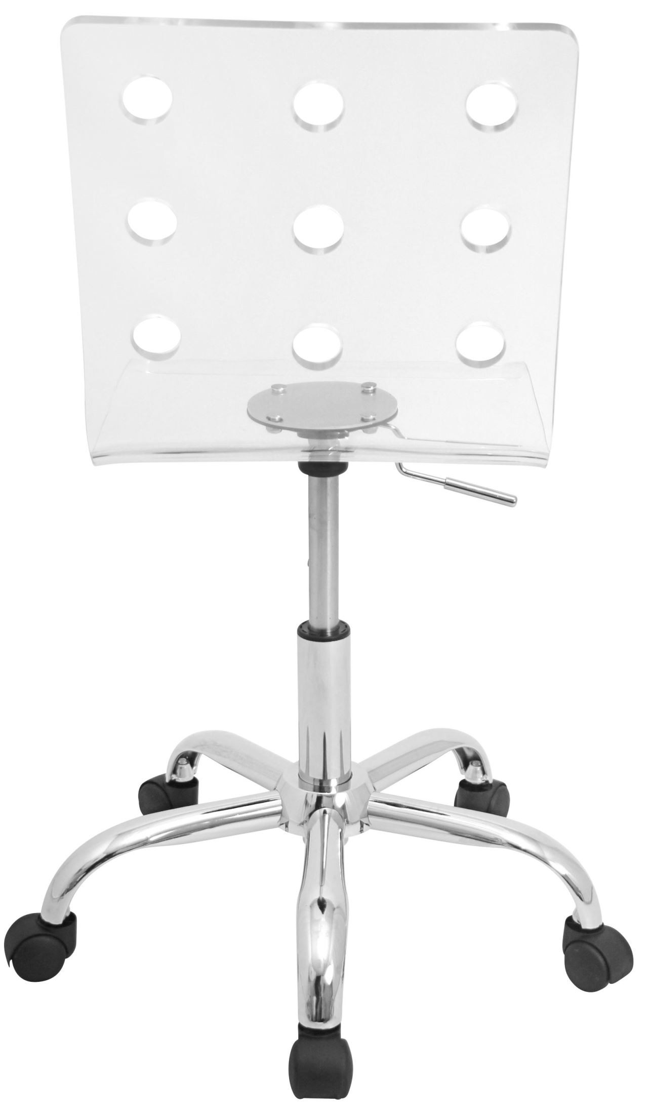swiss acrylic office clear chair from lumisource ofc tw swiss cl