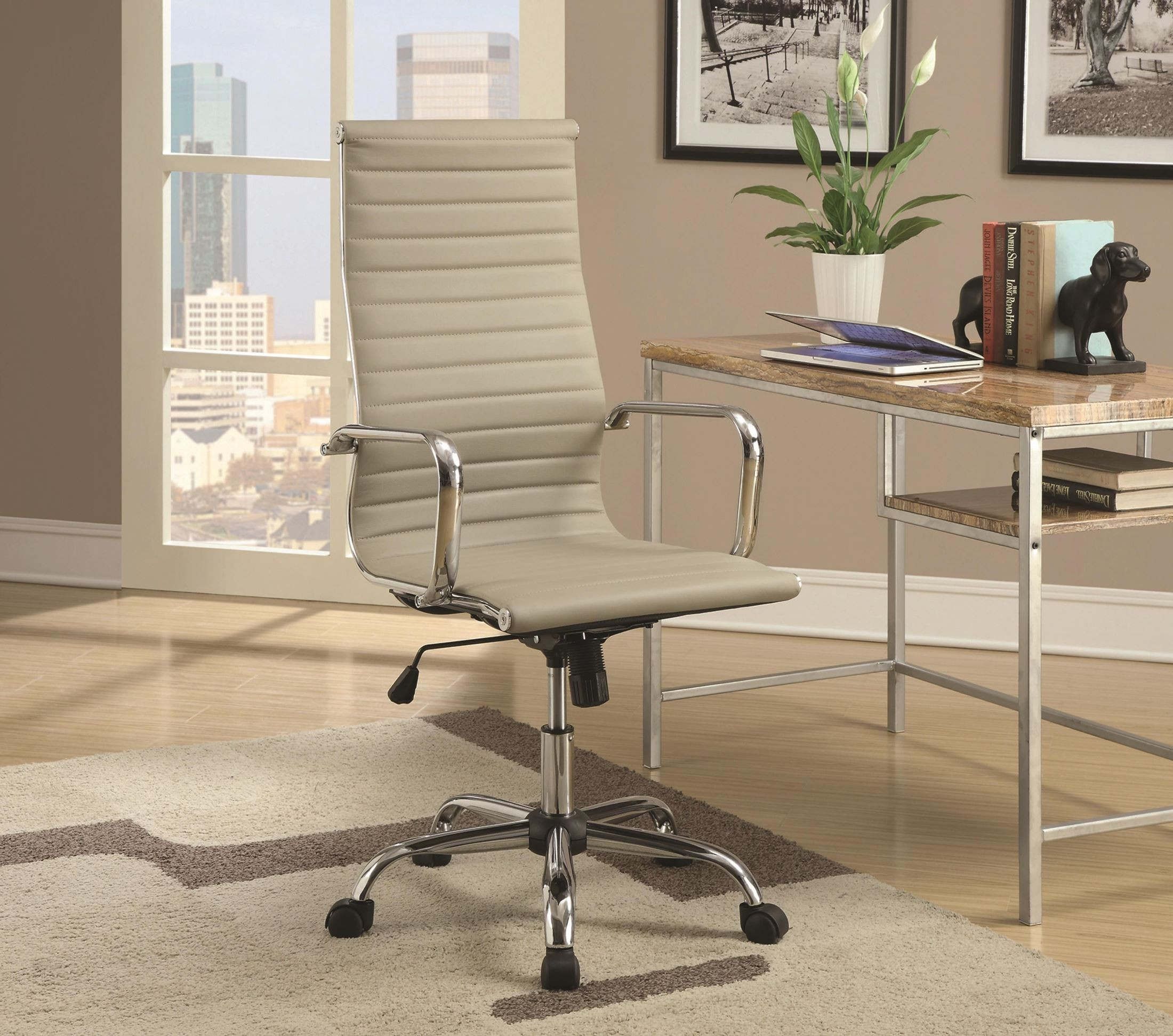 Sleek High Back fice Chair from Coaster