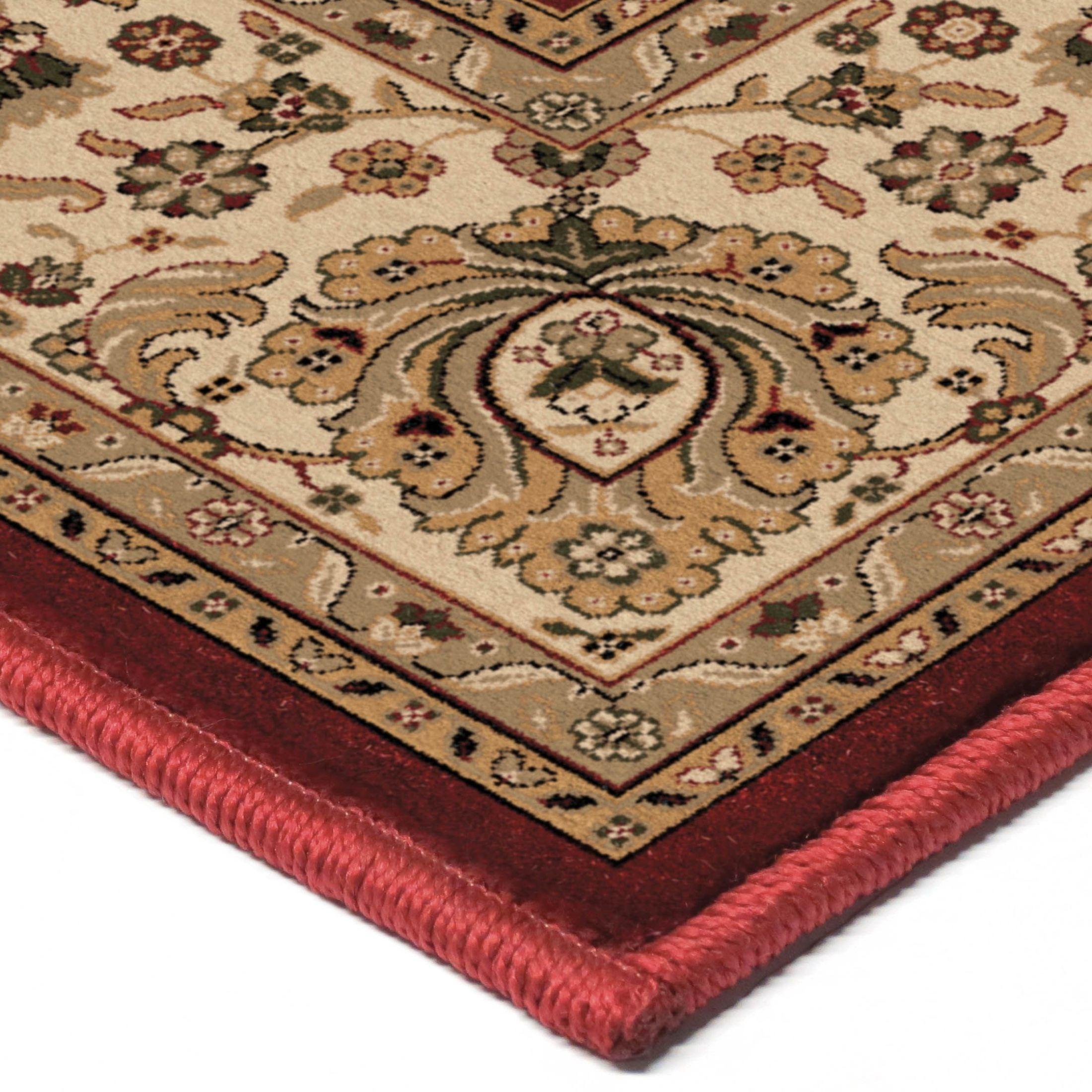 orian rugs detailed design traditional borokan burgundy. Black Bedroom Furniture Sets. Home Design Ideas