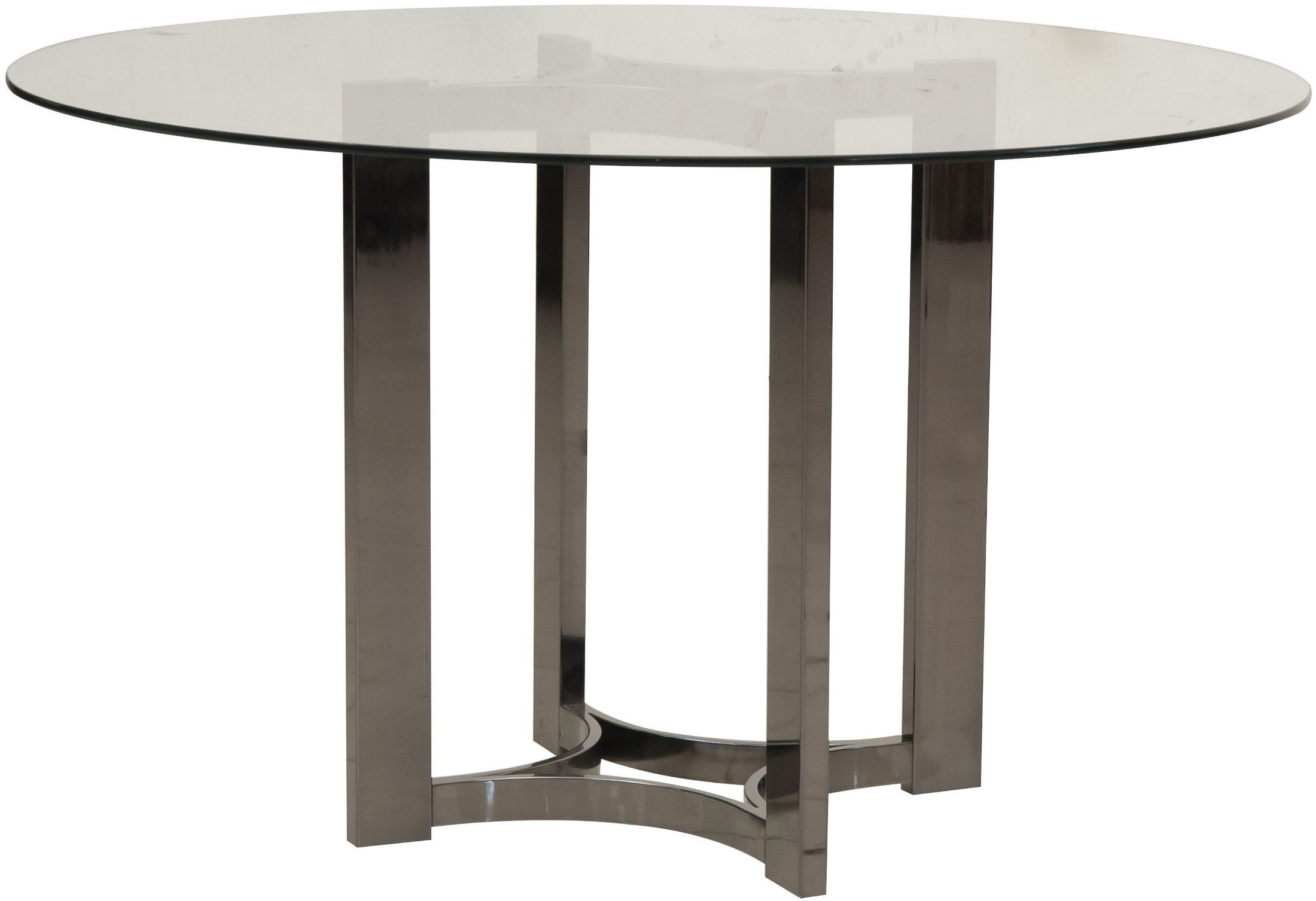 Silverton sounds black round dining table p004230 31 pulaski for Black round dining table