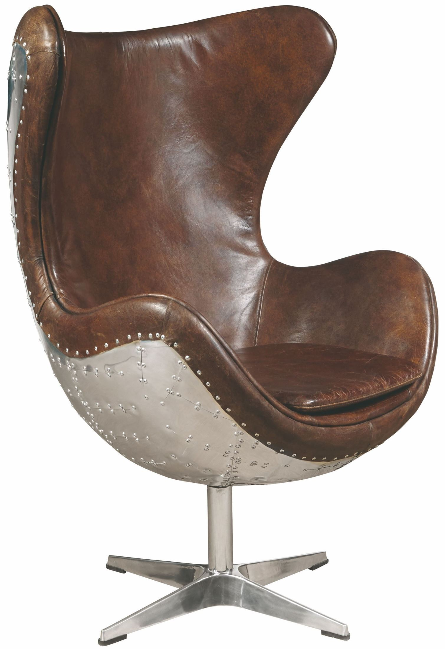 Brown Leather Accent Chair P006210 Pulaski