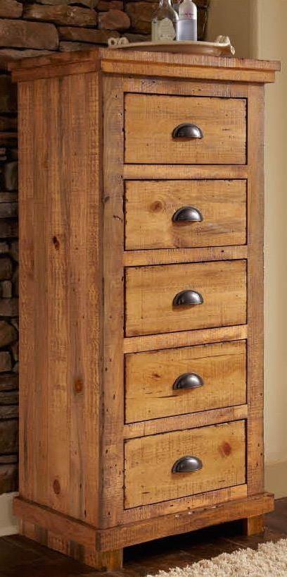 Willow Distressed Pine Upholstered Bedroom Set P608 34 35 78 Progressive