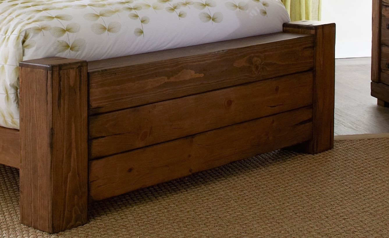 maverick driftwood panel bedroom set p626 34 35 78