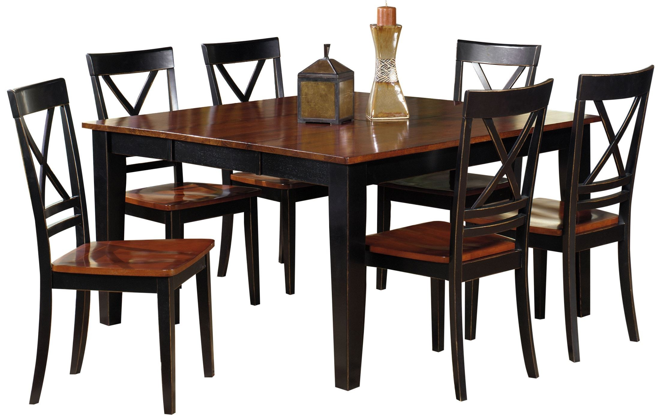 cosmo unique and durable dining room set p809 10b 10t