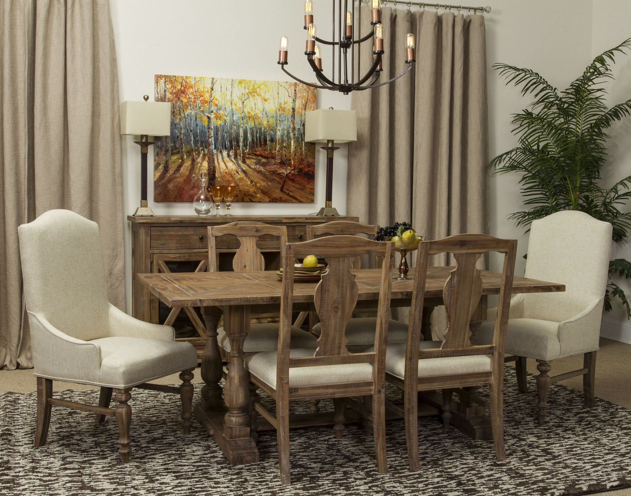 Patchwork boardwalk sideboard s4181 09 fairmont designs for Fairmont designs dining room