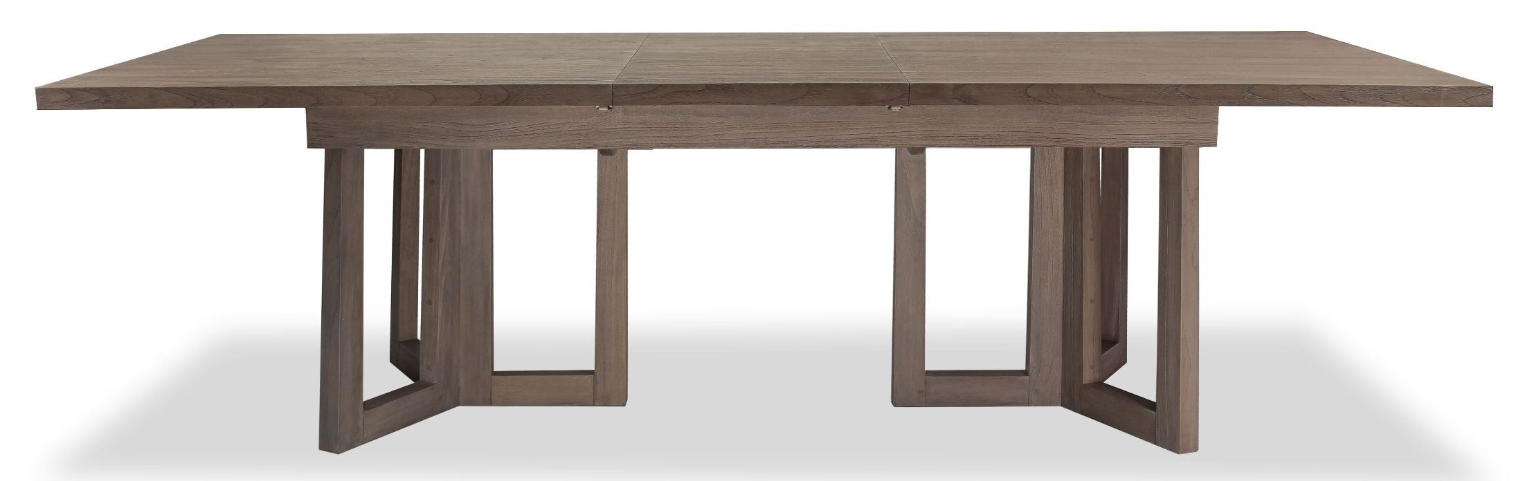palmer extendable dining room table from brownstone pl302 coleman