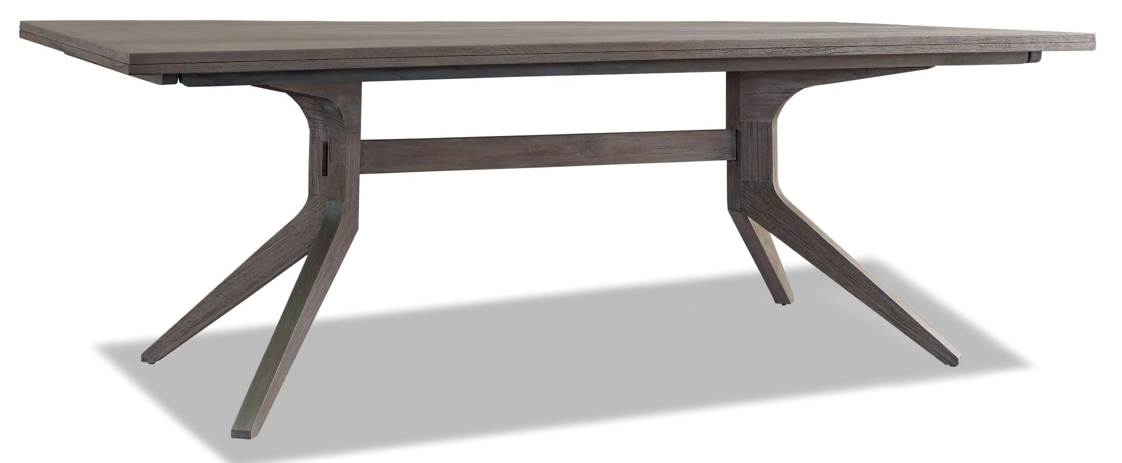 trestle dining room table from brownstone pl303 coleman furniture
