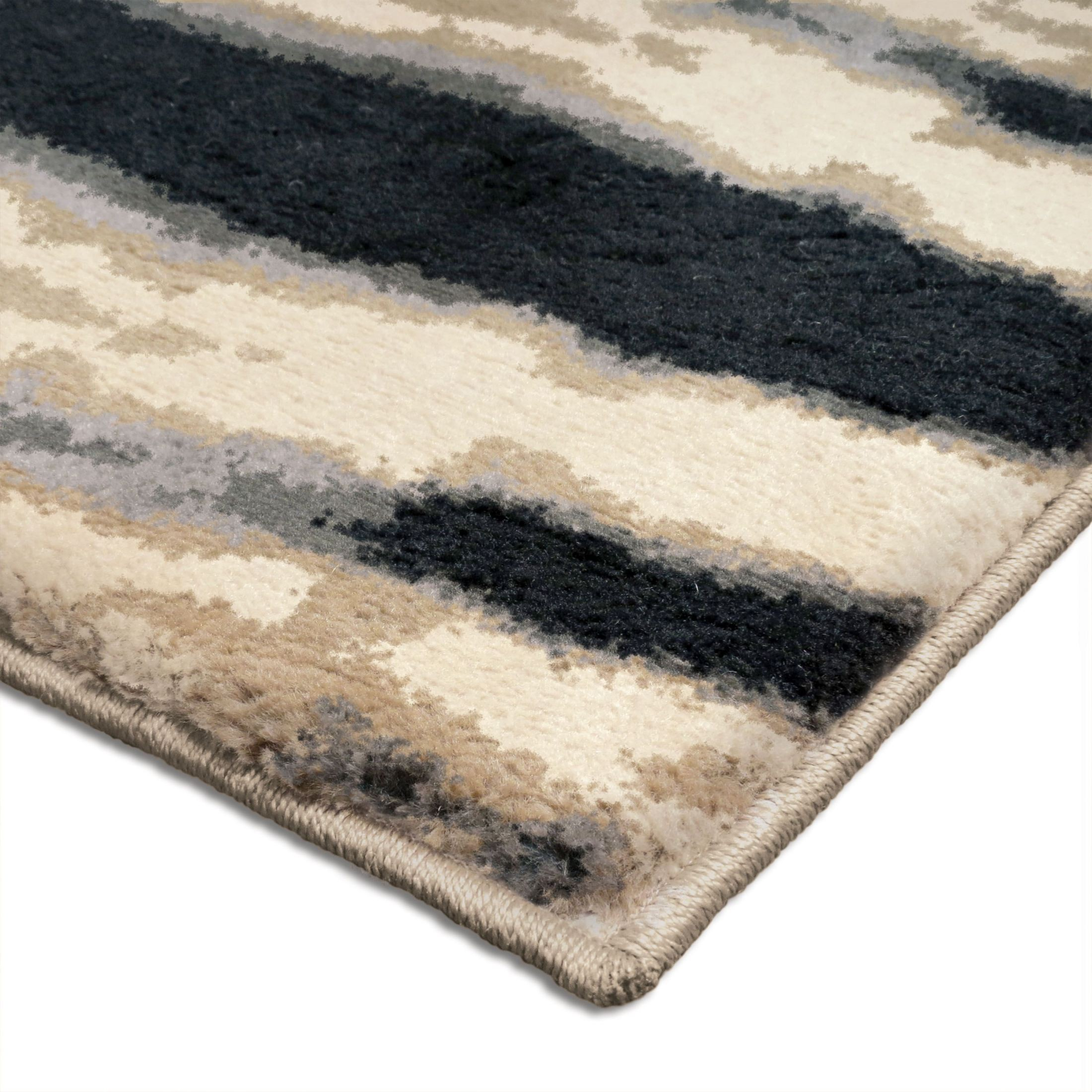 Huge Plush Rug: Orian Rugs Plush Abstract Casa Ivory Area Large Rug, 3417