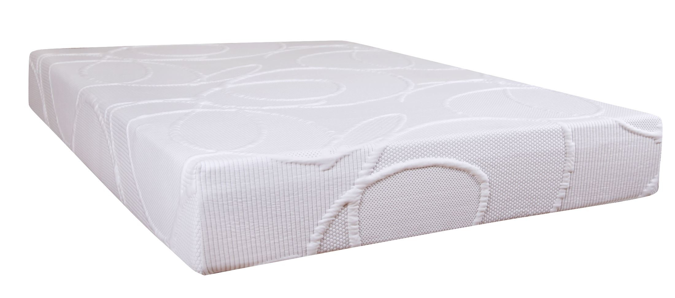 Polaris 10 Memory Foam Queen Size Mattress From Klaussner Polarisqqmat Coleman Furniture