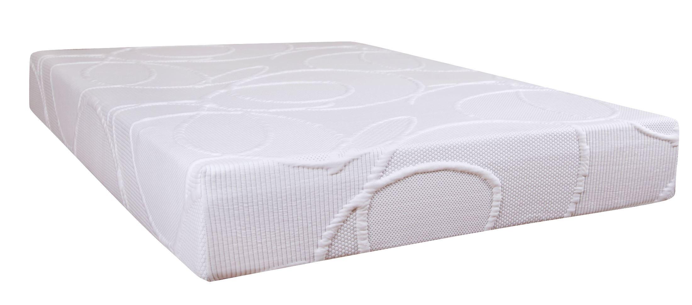 Polaris 10 Memory Foam Queen Size Mattress From Klaussner Polarisqqmat Coleman Furniture