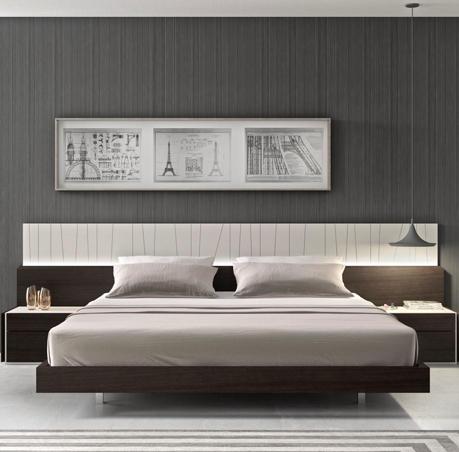 lacquer platform bedroom set from j m 17867 q coleman furniture