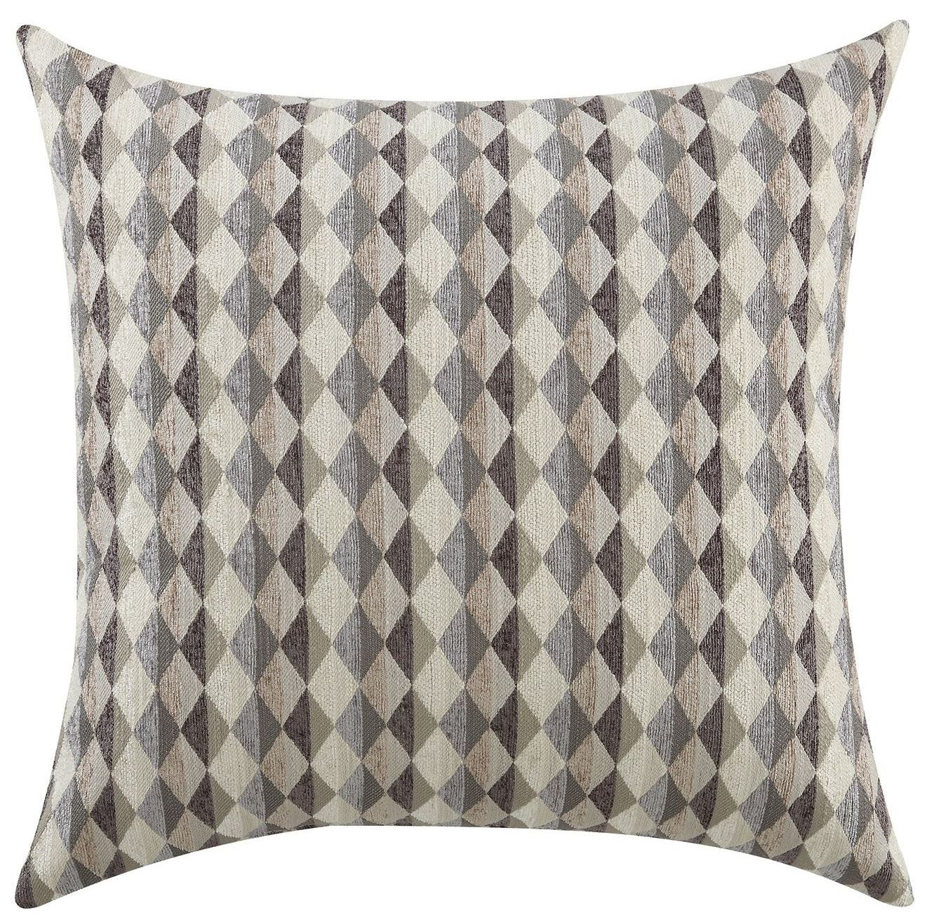 Grey Checkered Accent Pillow Set of 2 from Coaster (905100) Coleman Furniture