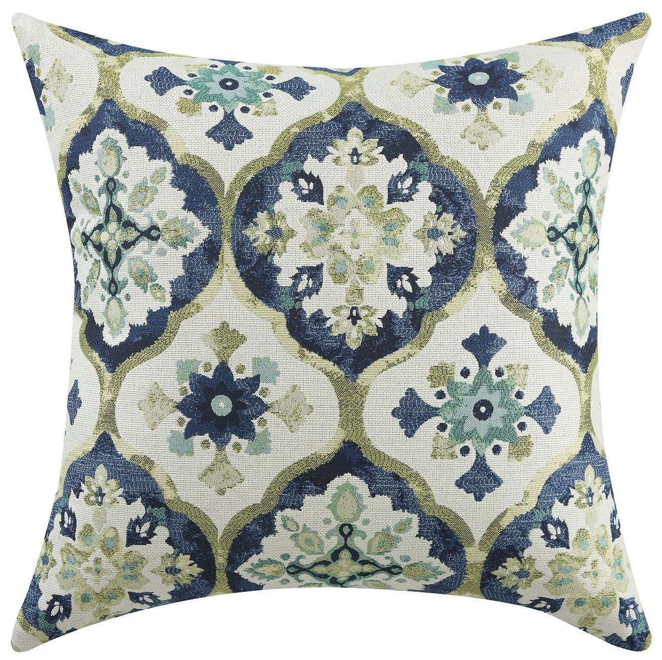 Blue And Green Kaleidoscope Accent Pillow Set of 2 from Coaster (905111) Coleman Furniture