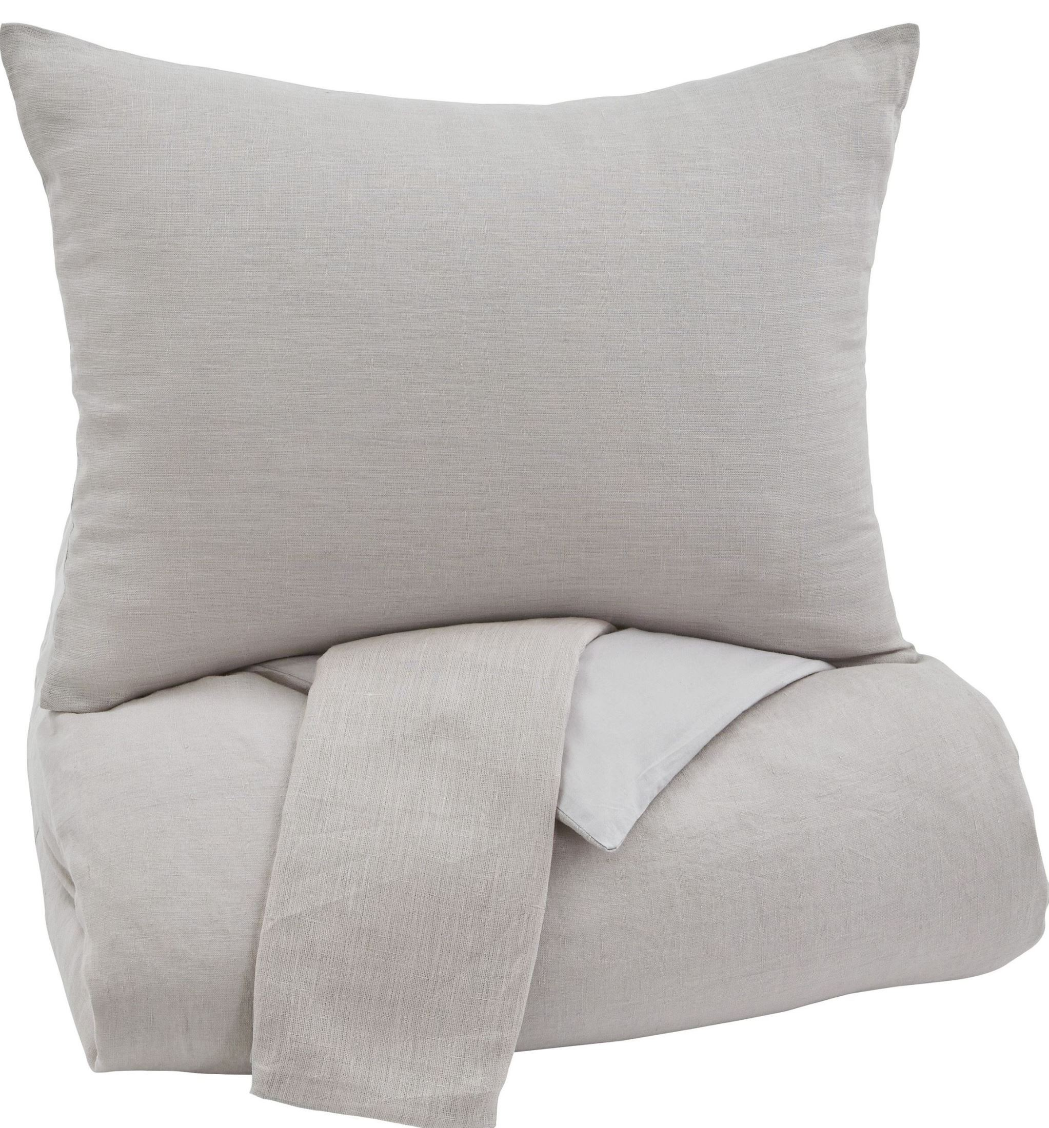 bergden light gray queen duvet cover set from ashley q734023q coleman furniture. Black Bedroom Furniture Sets. Home Design Ideas