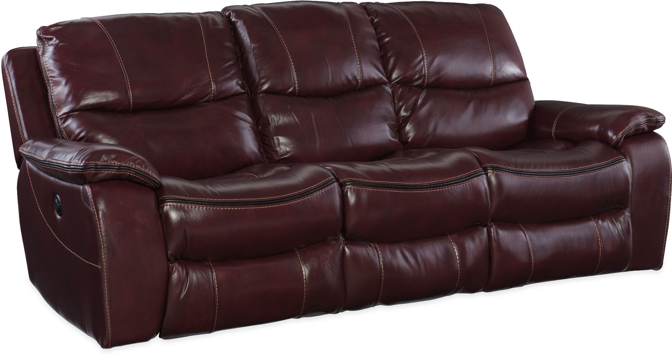Gregory Red Power Reclining Sofa Ss624 P3 069 Hooker Furniture