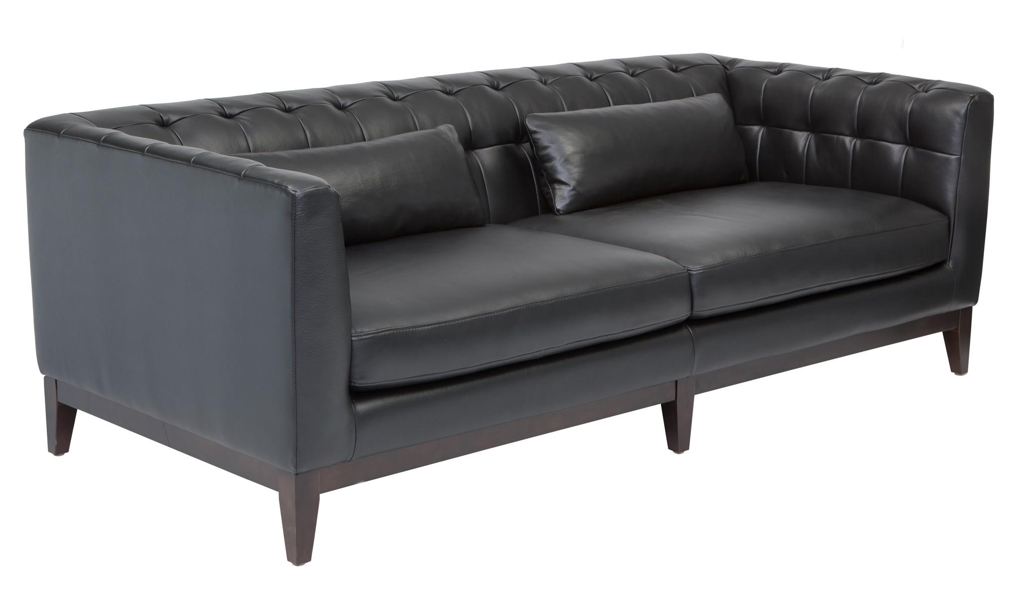 Randolph Black Sofa 36402 3 Sunpan