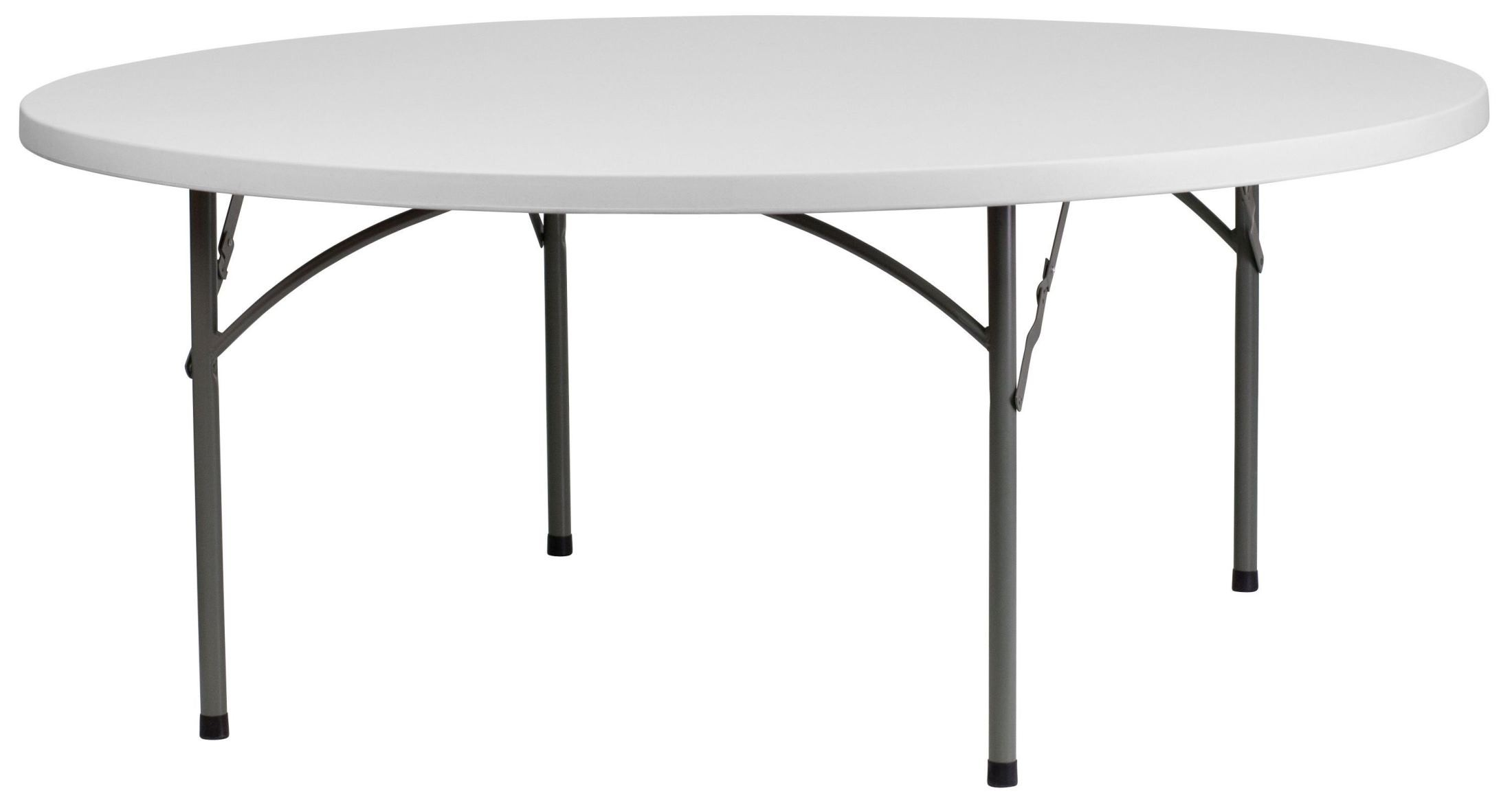 rb 72r gg 72 round granite white plastic folding table from renegade rb 72r gg coleman. Black Bedroom Furniture Sets. Home Design Ideas