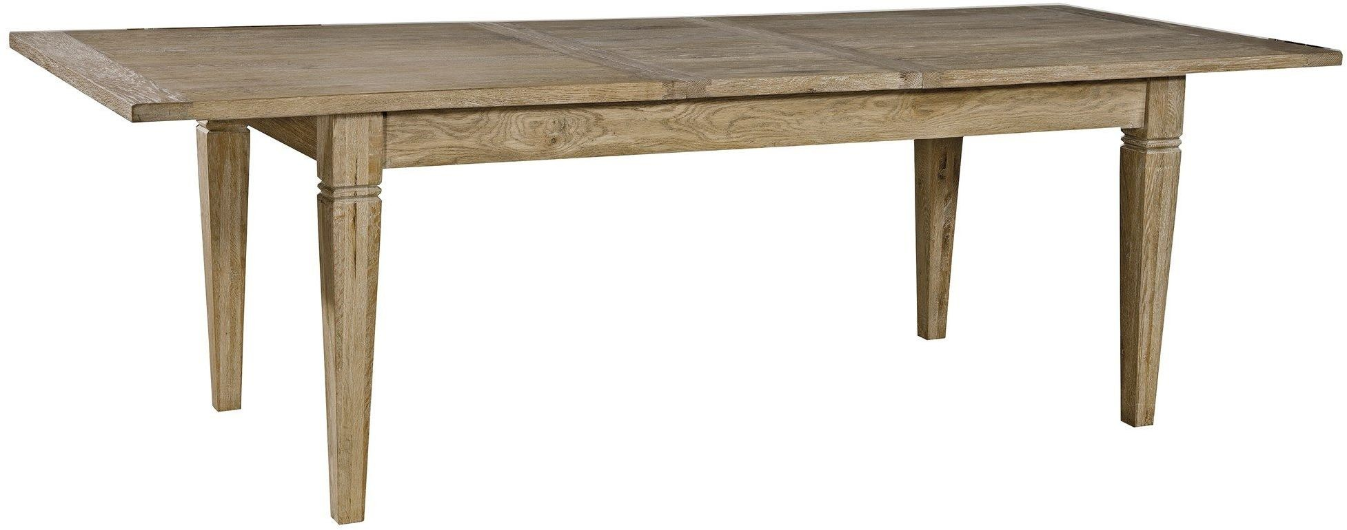 Brown rectangular extendable dining table rdh41 furniture classics - Rectangular dining table for 6 ...