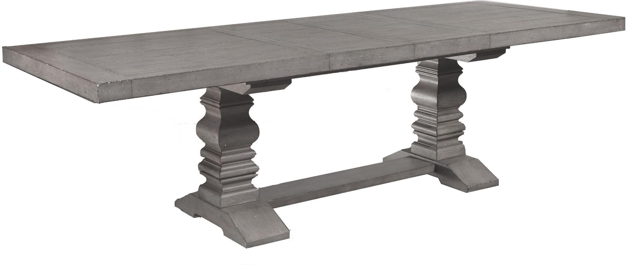 Prospect Hill Gray Rectangular Extendable Pedestal Dining  : s082 131a131bs5 from colemanfurniture.com size 2200 x 930 jpeg 151kB