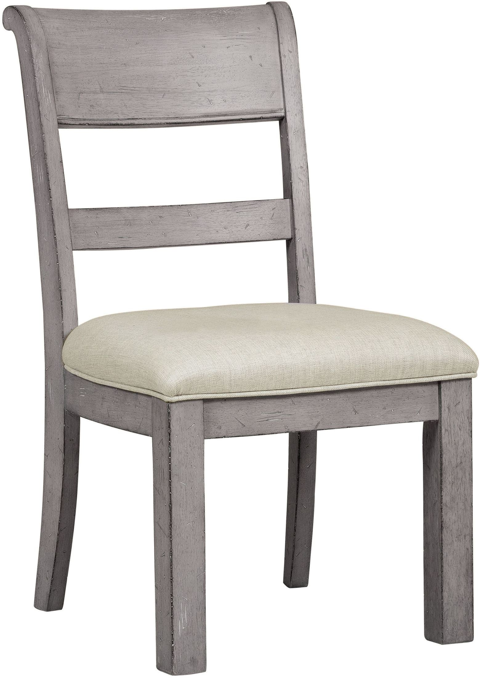 Prospect Hill Gray Side Chair S082 154 Samuel Lawrence