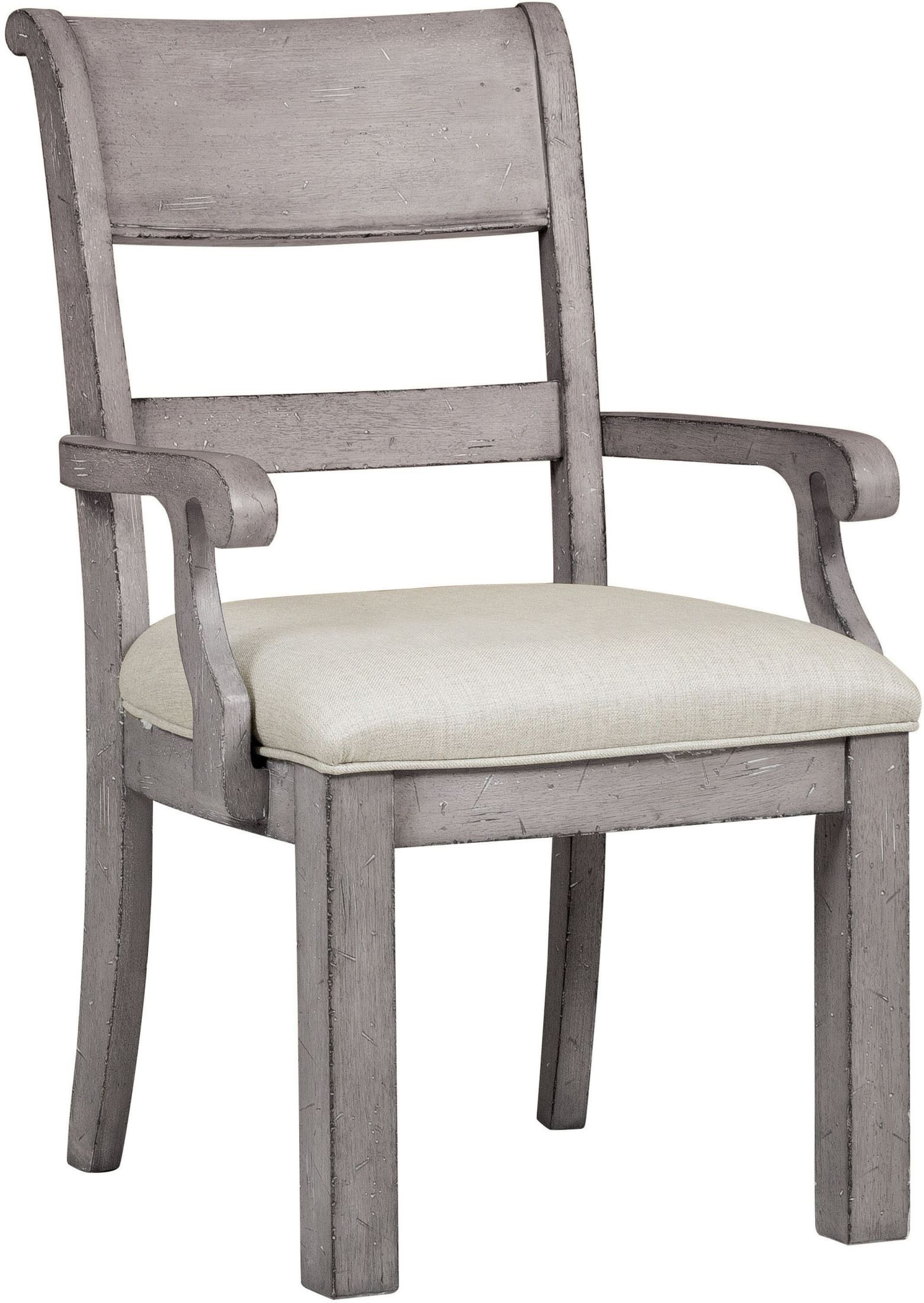 Prospect hill gray arm chair s samuel lawrence