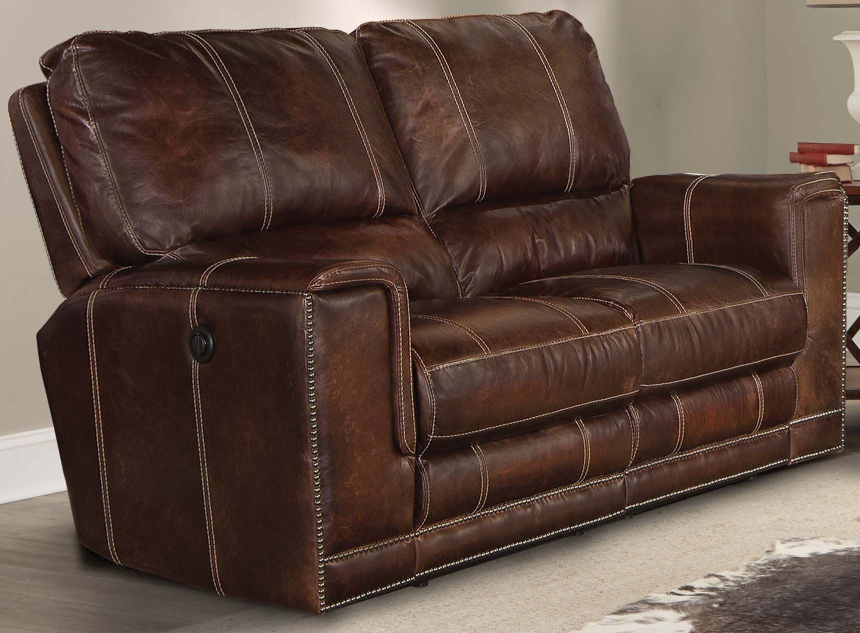 Salinger Maple Dual Power Reclining Loveseat From Parker Living Msal 822p Map Coleman Furniture