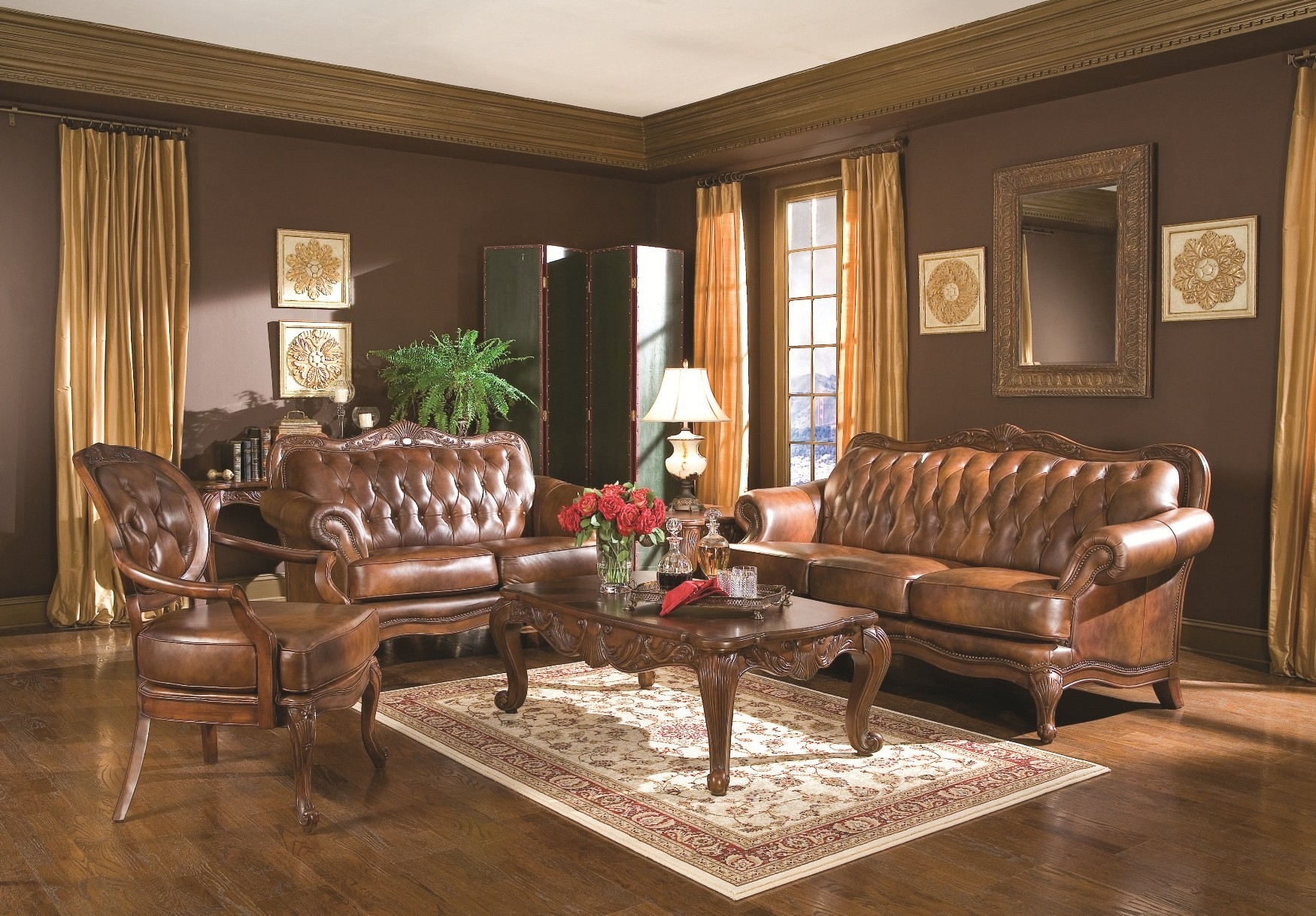 Victoria living room set 50068 from coaster 50068 coleman furniture