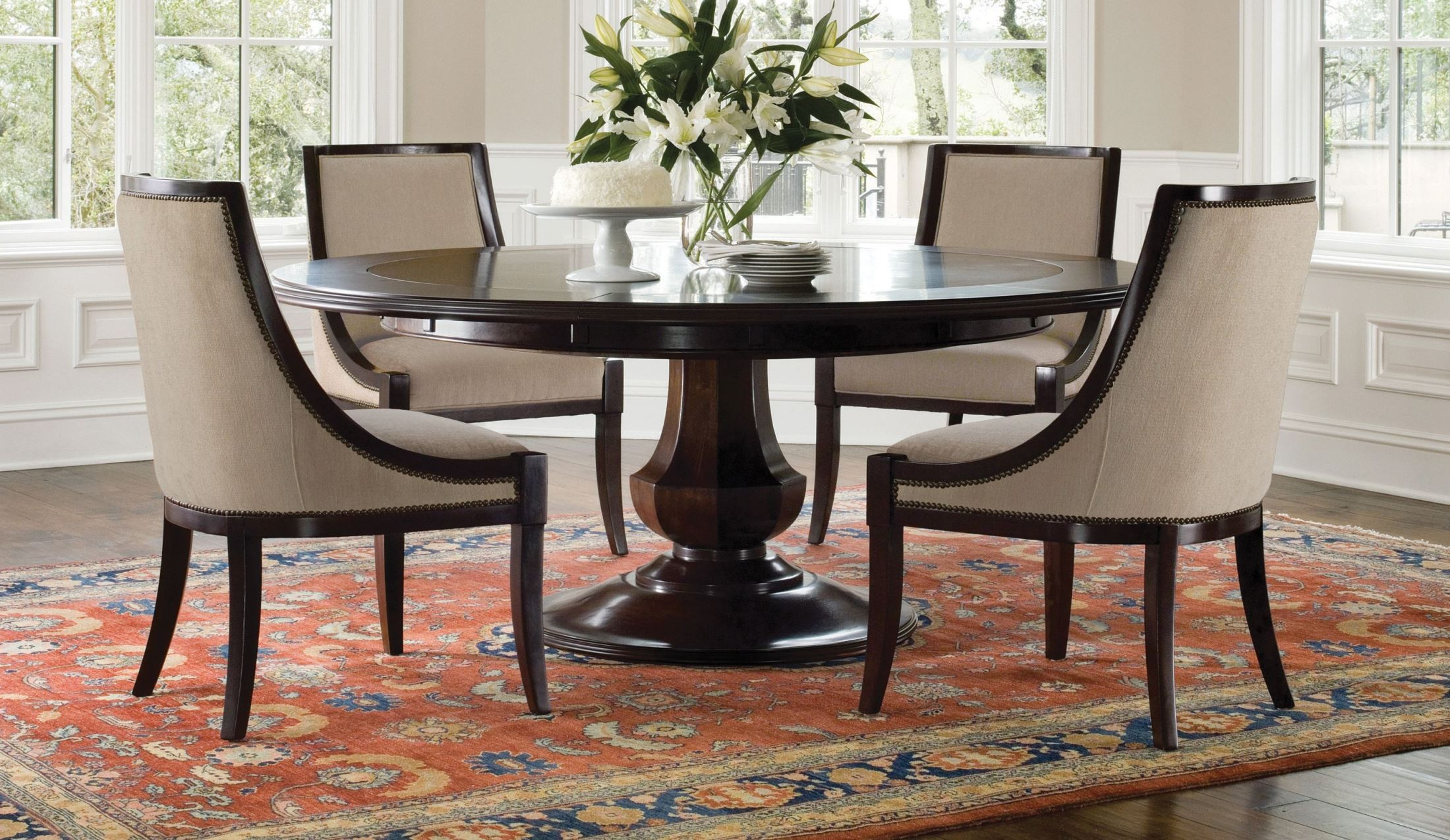 Sienna Dining Room Set From Brownstone SNV302 Coleman Furniture