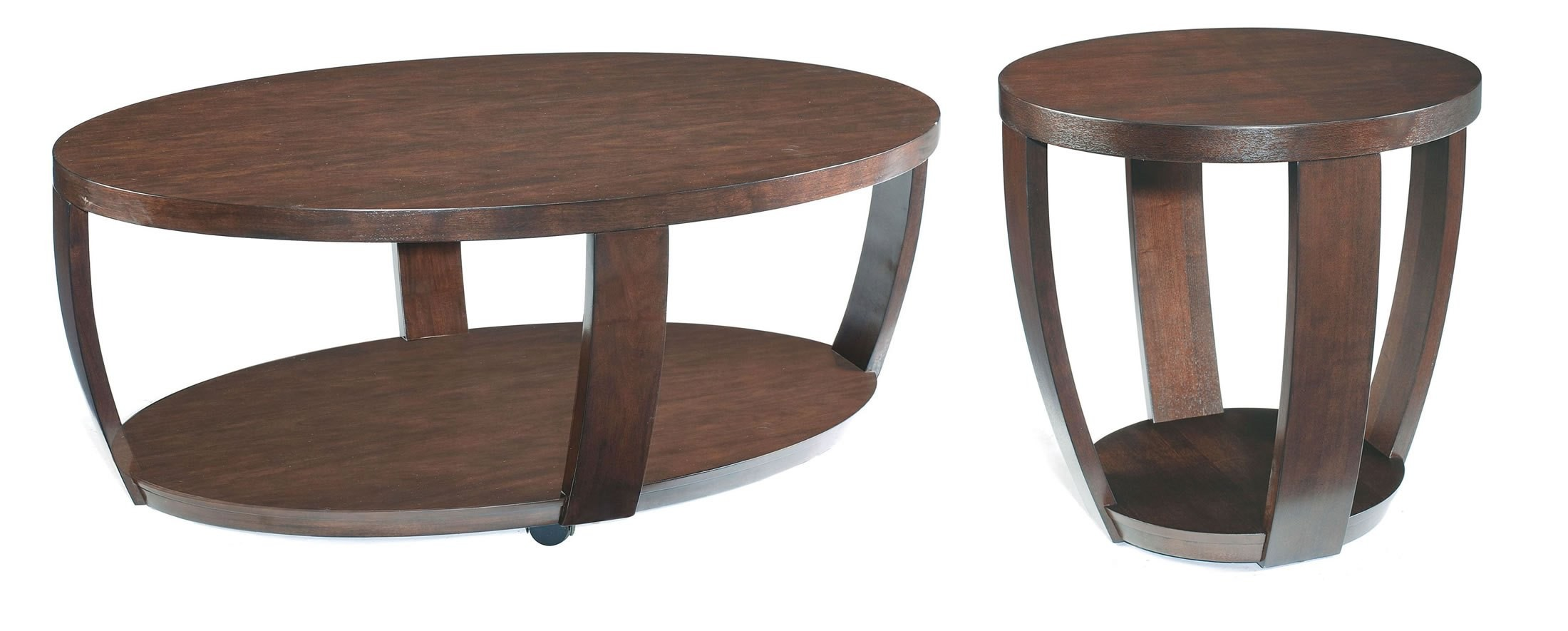 Sotto oval cocktail table from magnussen home t1579 47 for Cocktail table 47